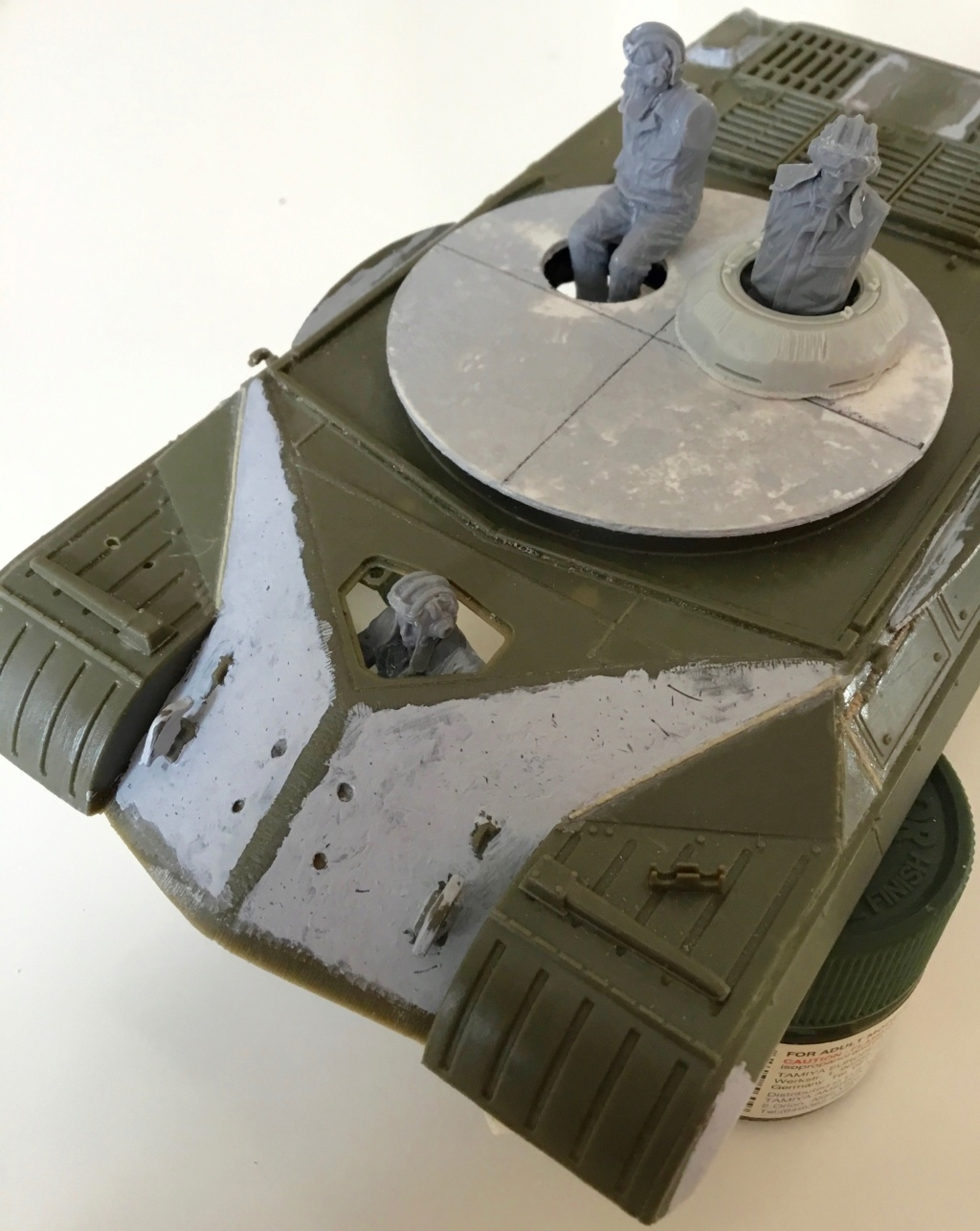 [Christophe Jacquemont] IS-3M-T 1/35 (Trumpeter +scratch).   - Page 2 Img_1718