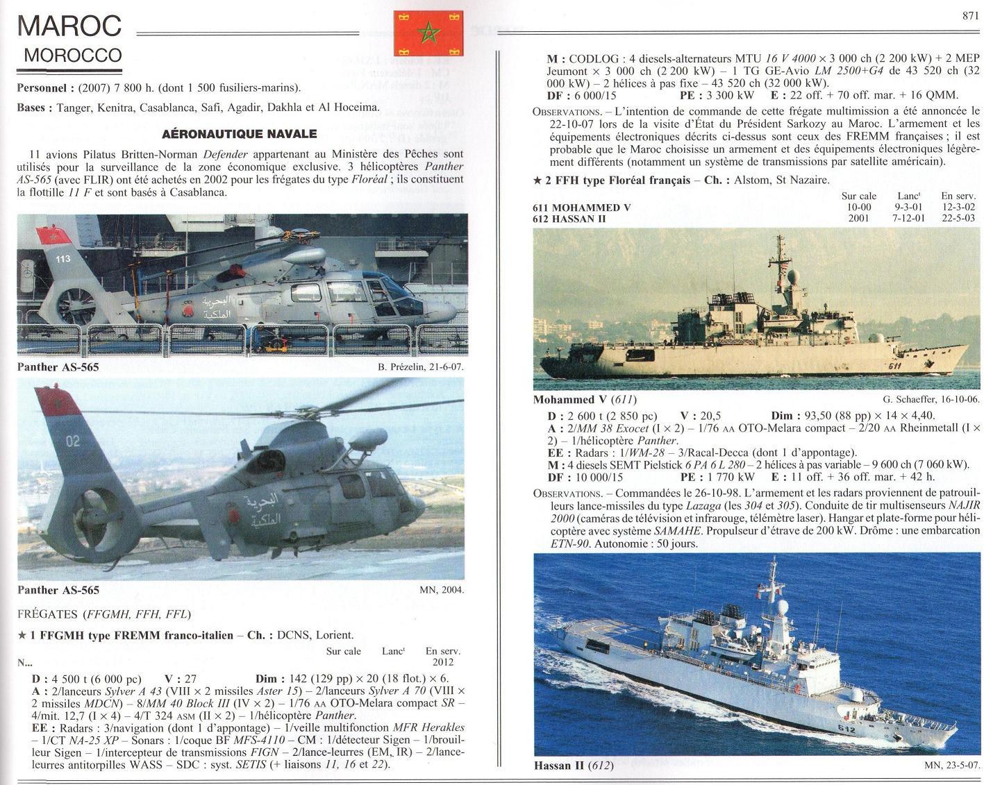 Articles à propos de la Marine Royale Marocaine 08-00110