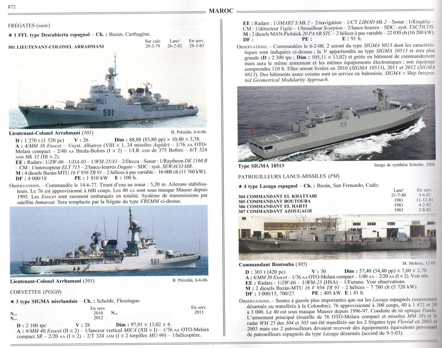 Articles à propos de la Marine Royale Marocaine 08-00210