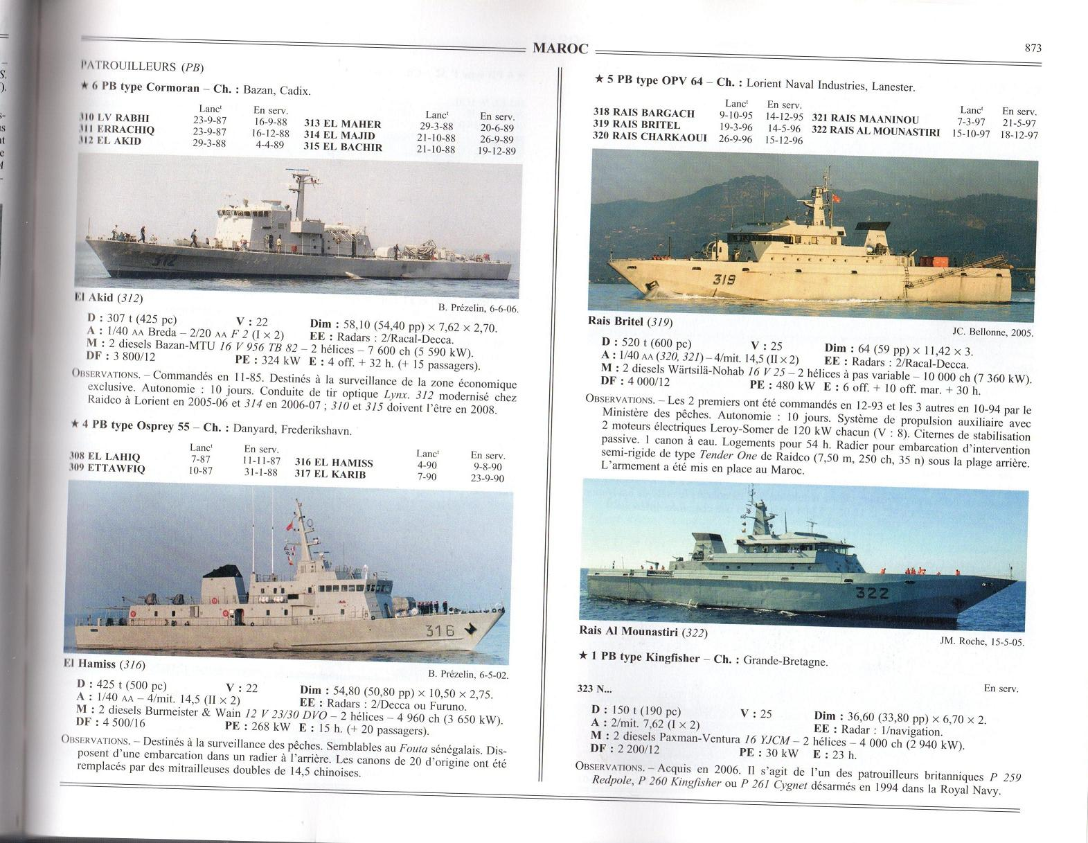 Articles à propos de la Marine Royale Marocaine 08-00310