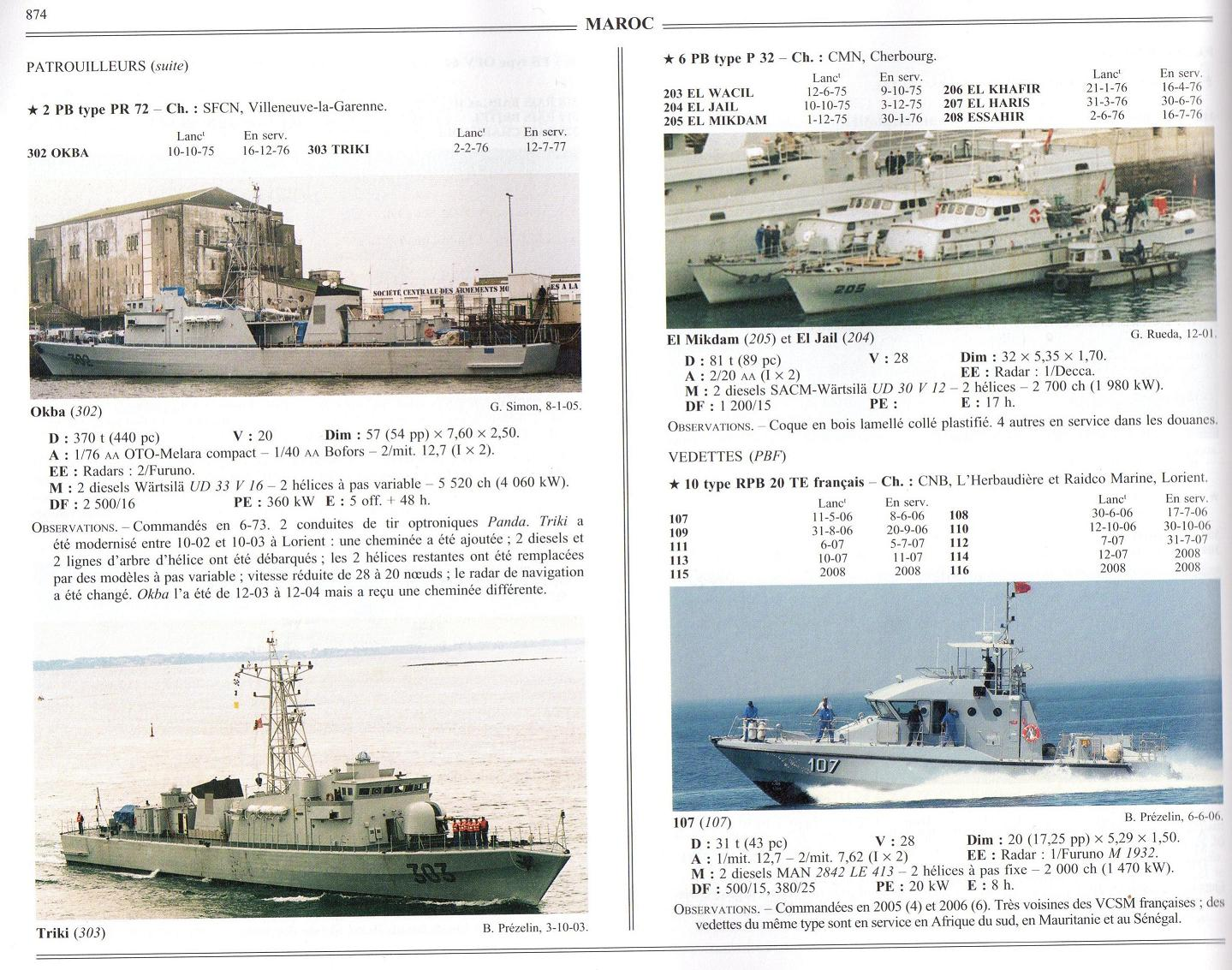 Articles à propos de la Marine Royale Marocaine 08-00410