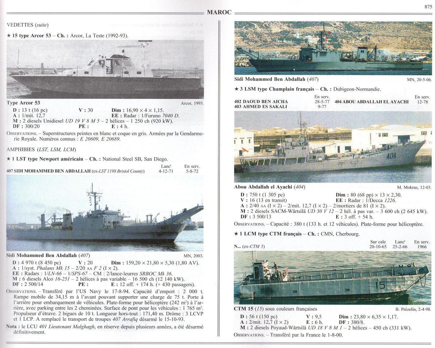 Articles à propos de la Marine Royale Marocaine 08-00510