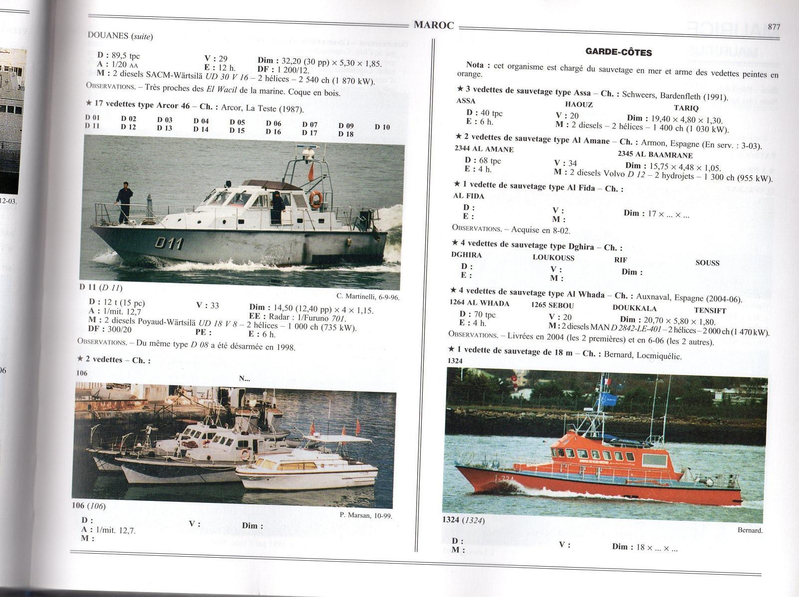 Articles à propos de la Marine Royale Marocaine 08-00710