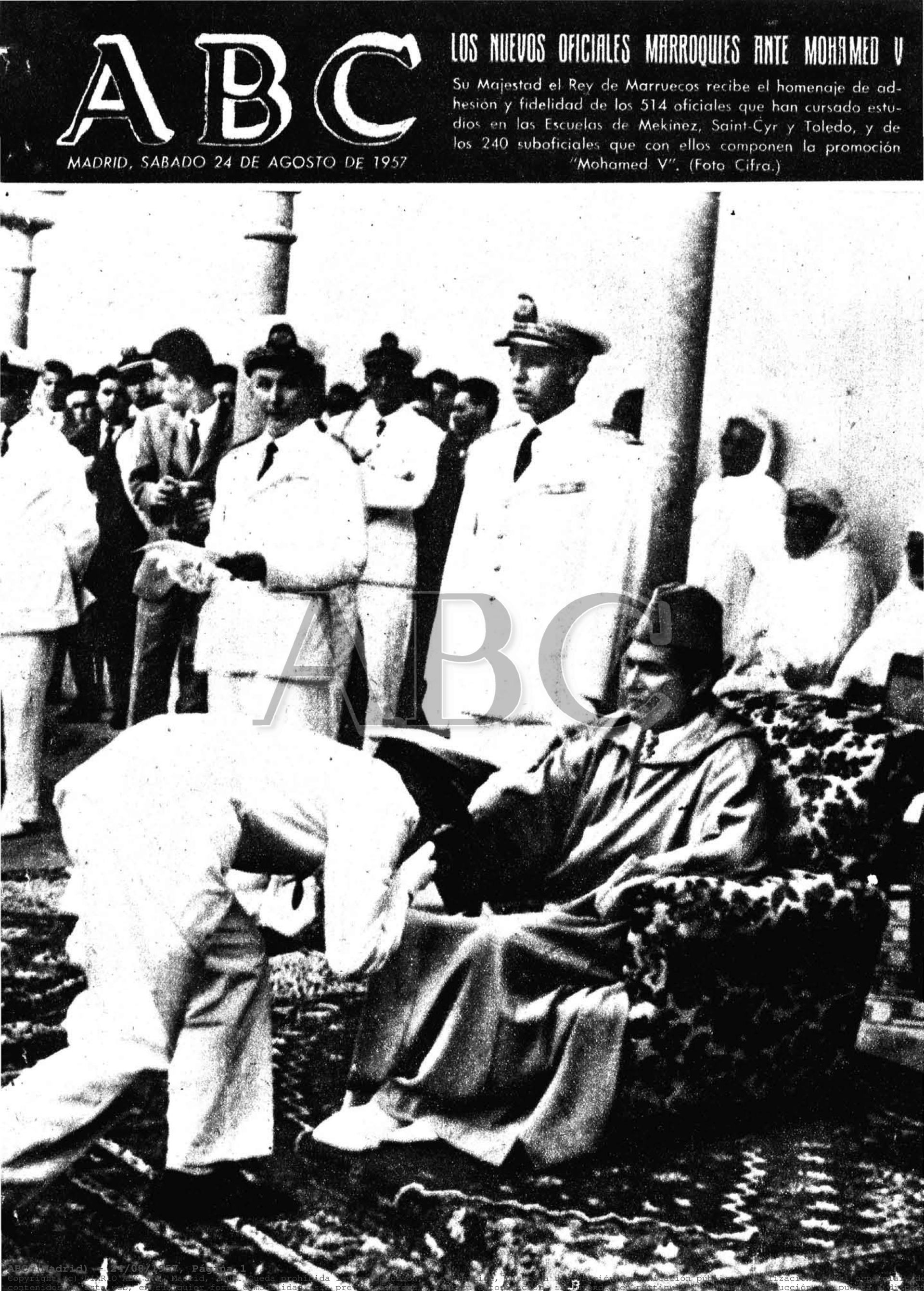 Les Officiers de la promotion Mohammed V - 1956/57 Clipb153