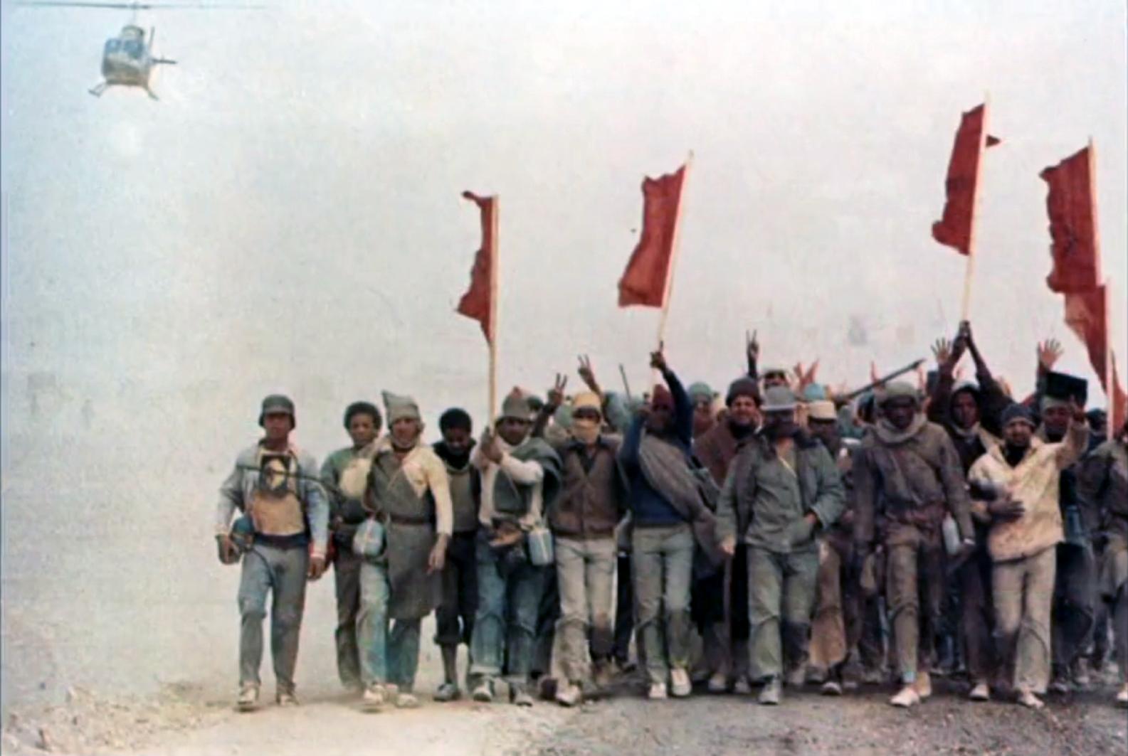 Les FAR durant la Marche Verte 1975 Clipb357