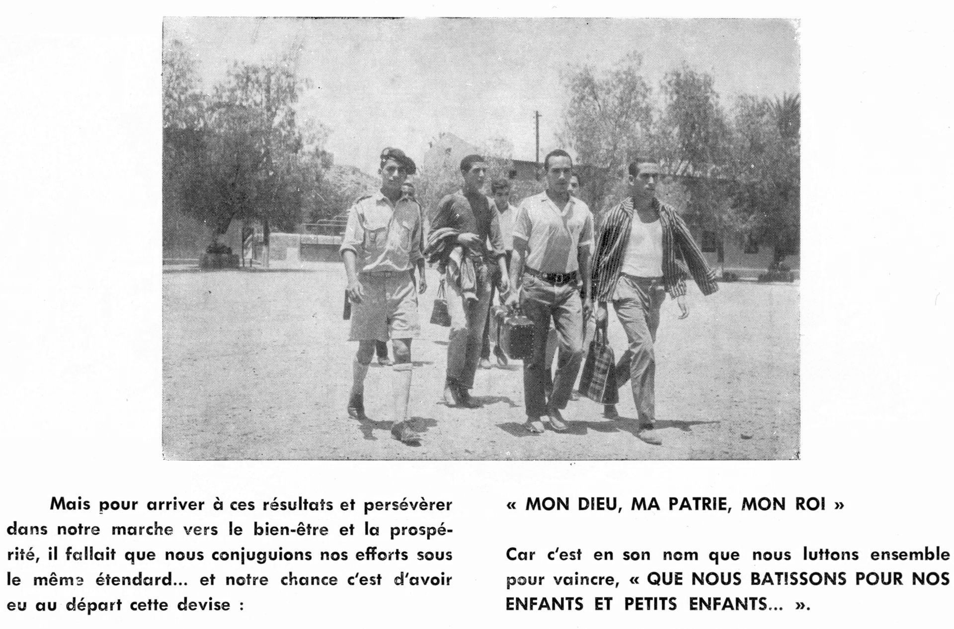 9 juin 1966, Institution du service militaire obligatoire Clipb414