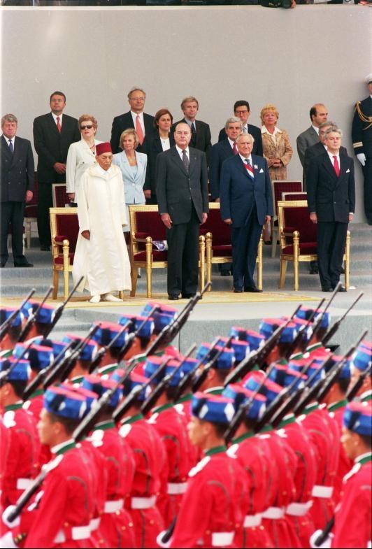 La Garde Royale Marocaine / Moroccan Royal Guard - Page 11 Clipb446