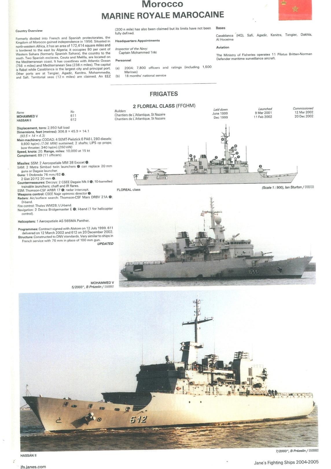 Articles à propos de la Marine Royale Marocaine Clipb498