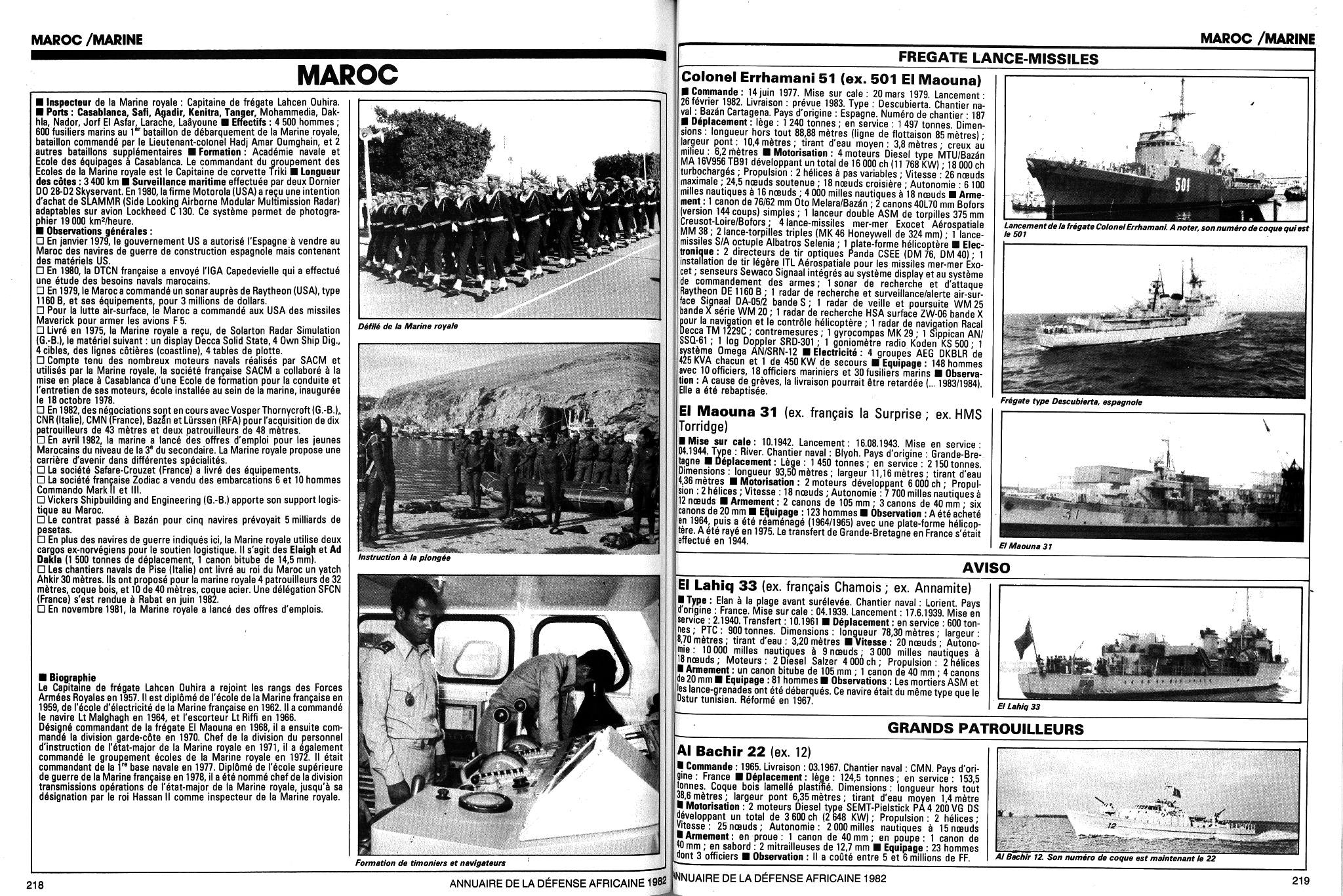 Articles à propos de la Marine Royale Marocaine Clipb502