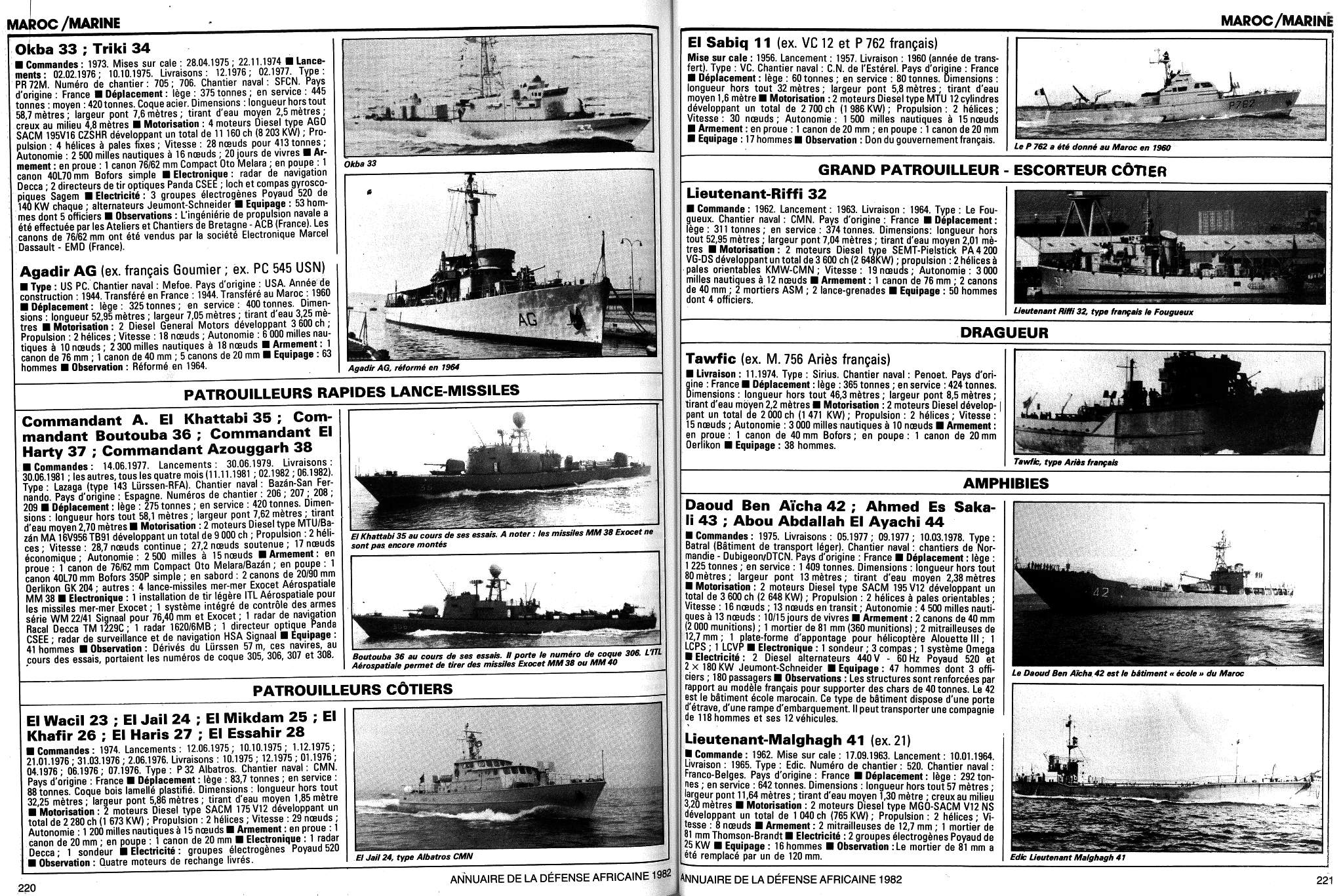 Articles à propos de la Marine Royale Marocaine Clipb503