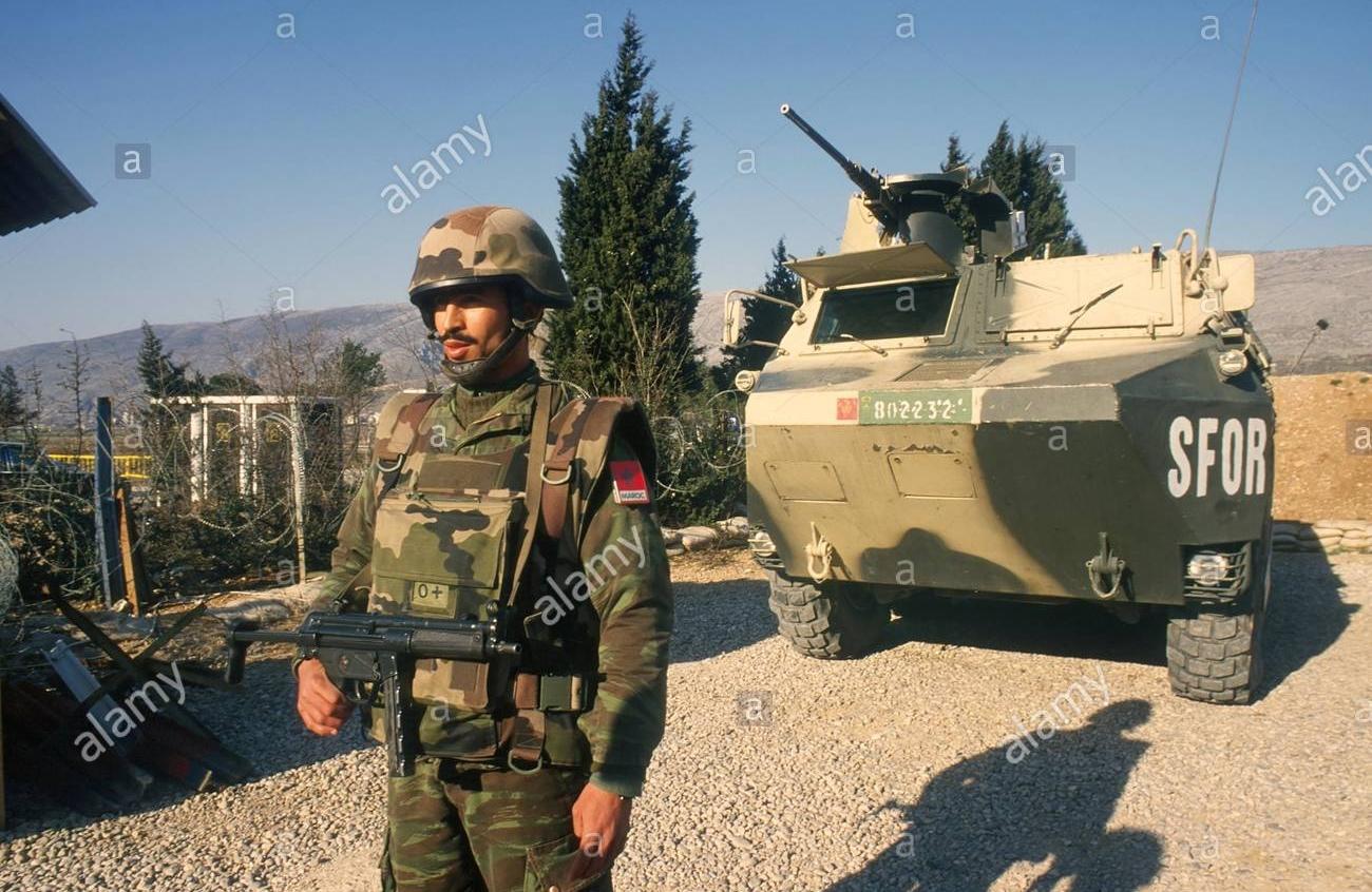 Les F.A.R. en Bosnie  IFOR, SFOR et EUFOR Althea Clipb505