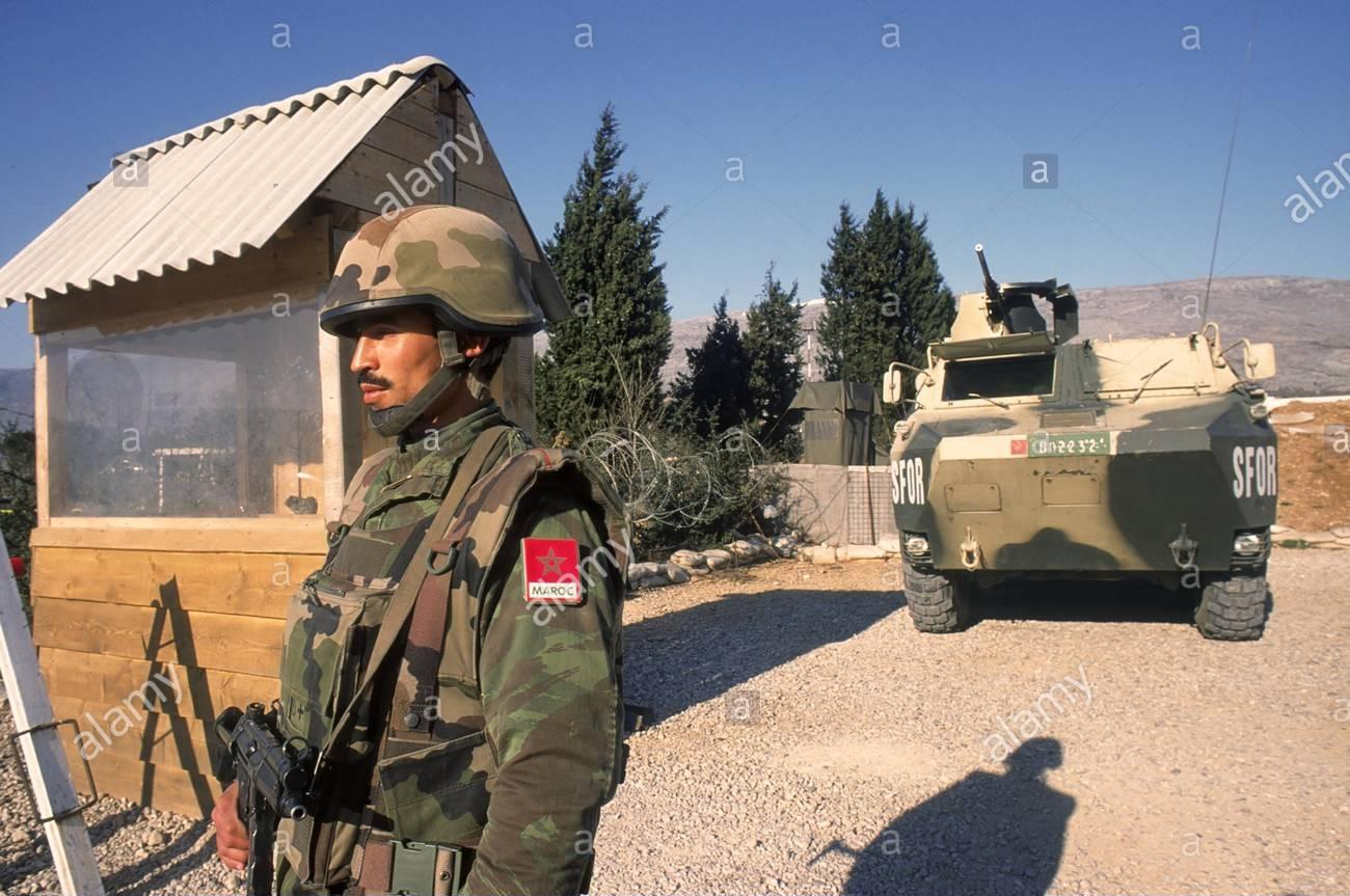 Les F.A.R. en Bosnie  IFOR, SFOR et EUFOR Althea Clipb506