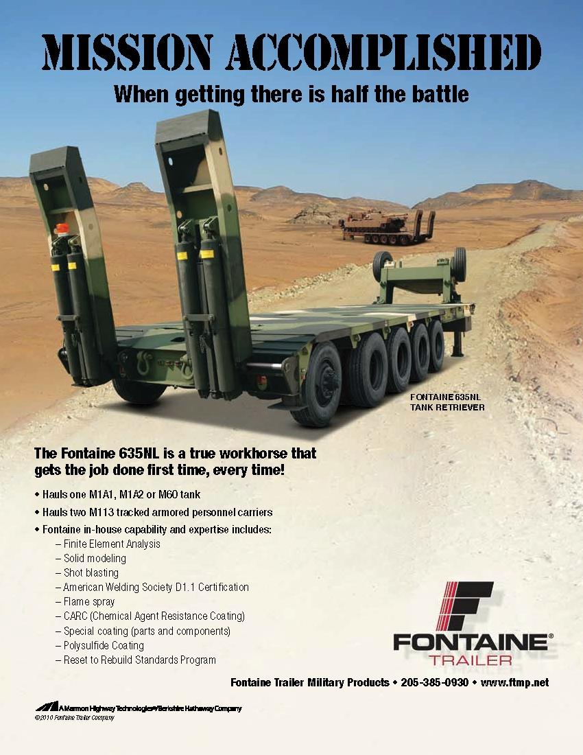 Fontaine 635NL - HET Semi-Trailer Clipb938