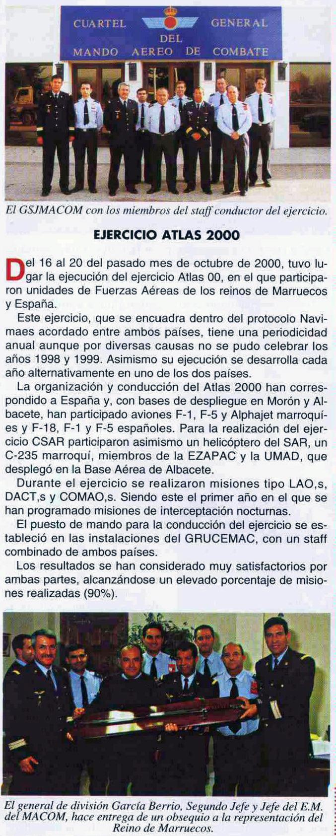 Exercice Atlas 2000 Clipbo24