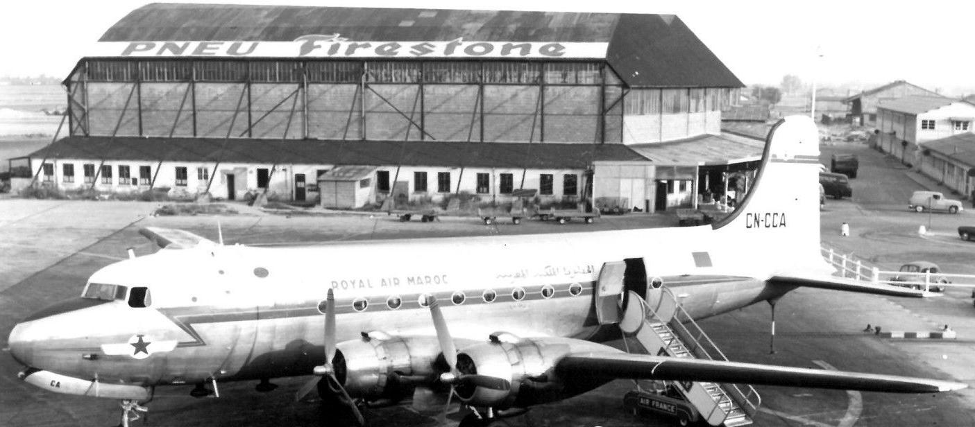 Anciens avions de la RAM Clipbo87