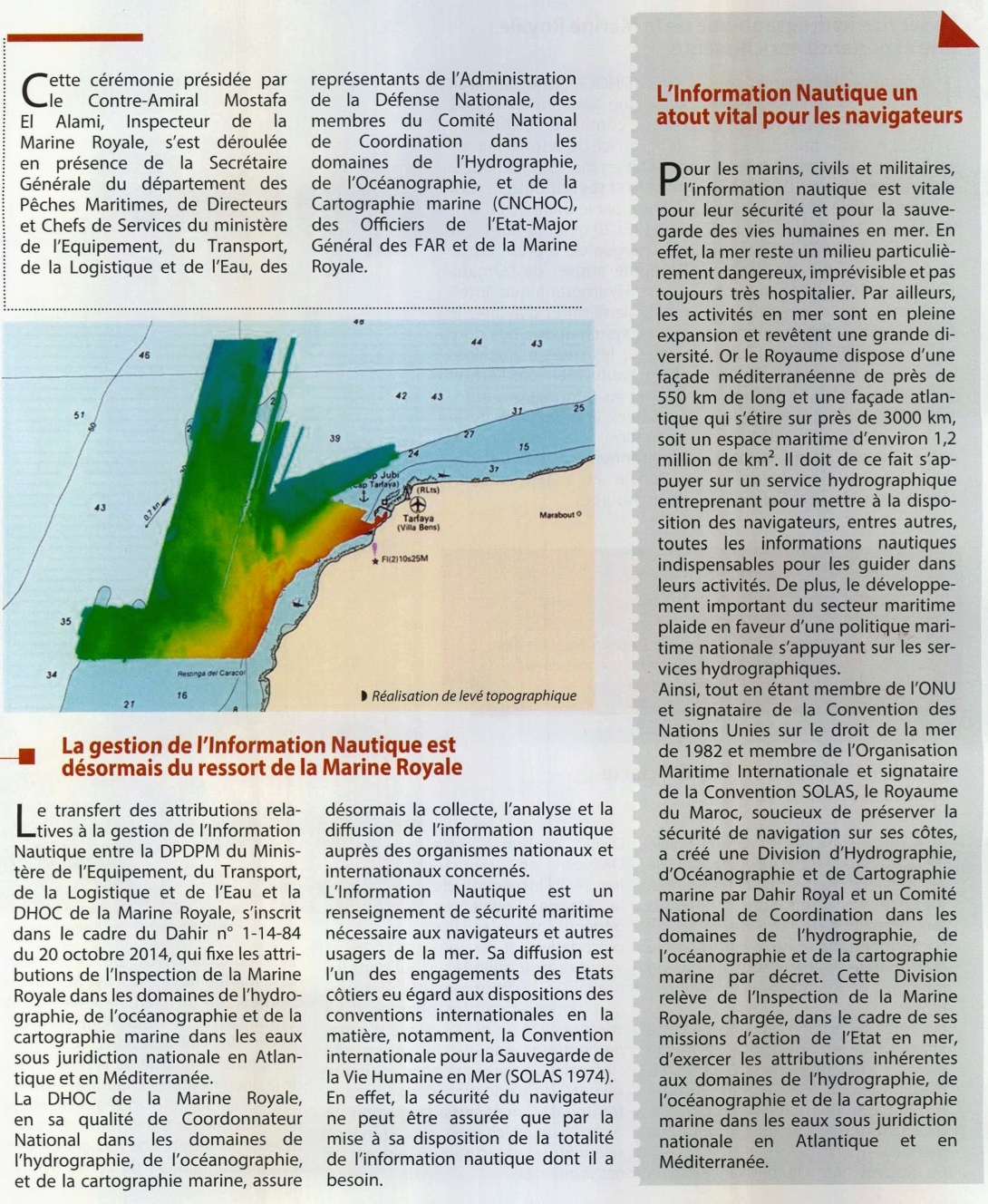 Royal Moroccan Navy Hydrographic, Oceanographic and Cartographic Division  / D.H.O.C - Page 3 Clipbo90