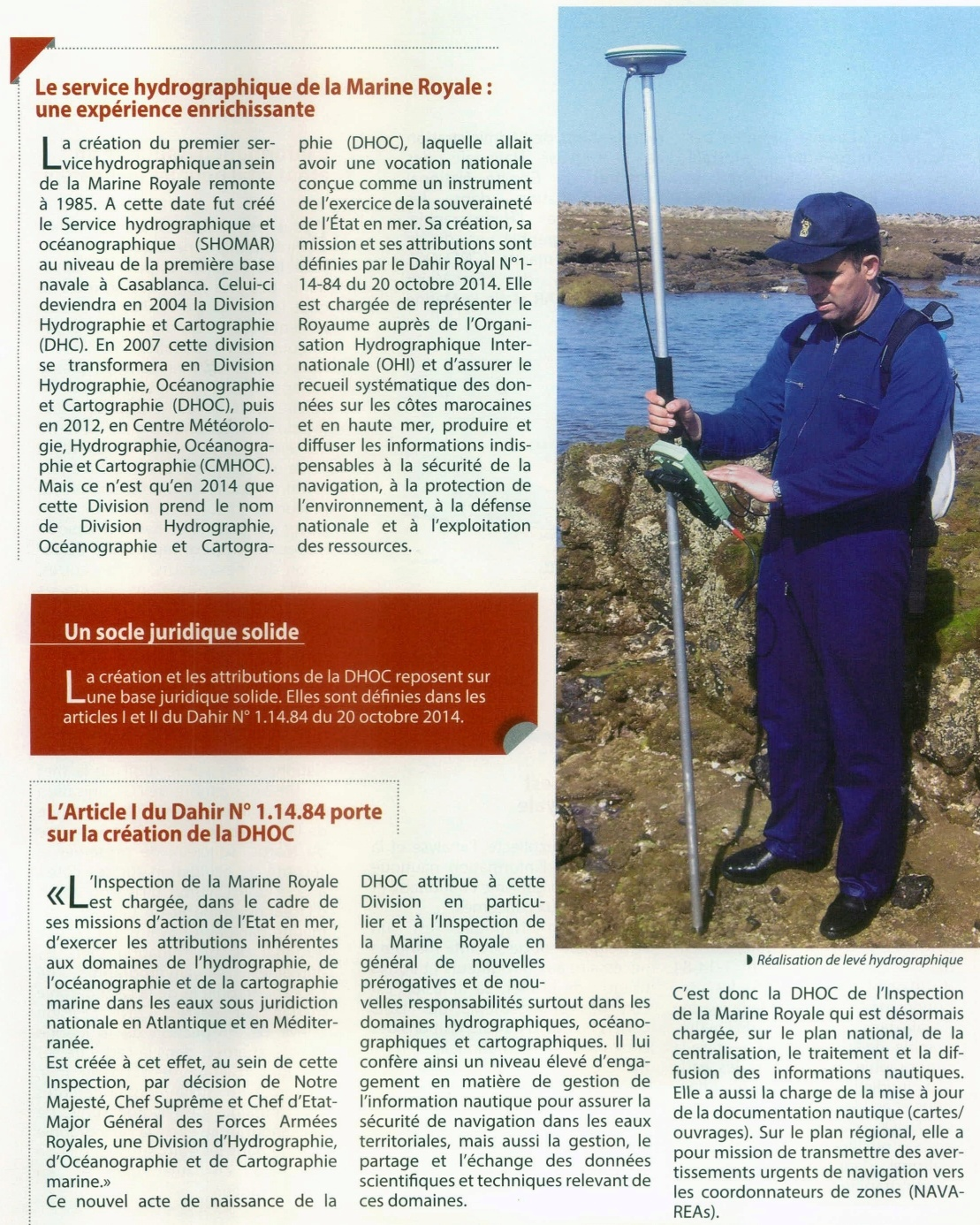 Royal Moroccan Navy Hydrographic, Oceanographic and Cartographic Division  / D.H.O.C - Page 3 Clipbo91