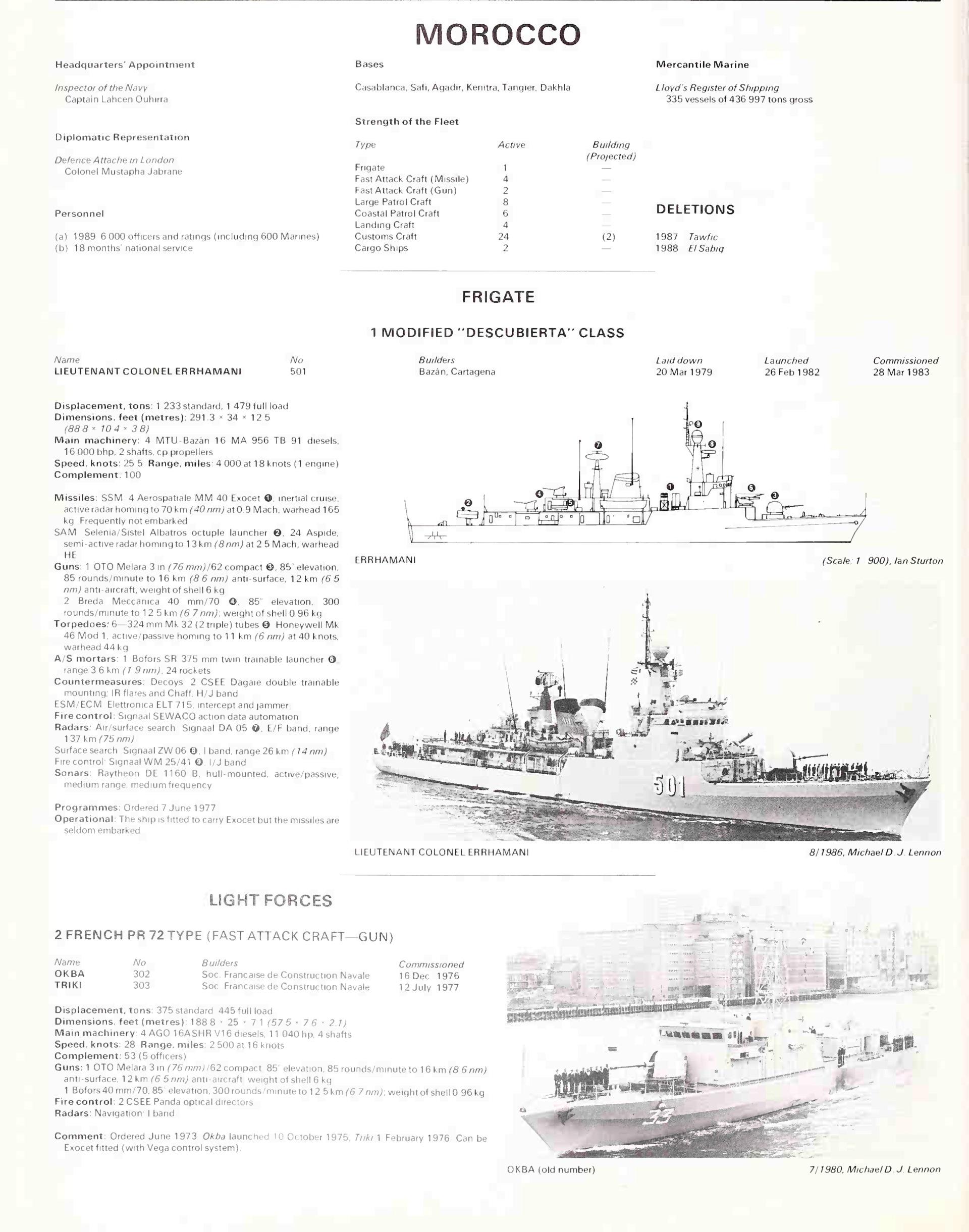 Articles à propos de la Marine Royale Marocaine Jane_s14