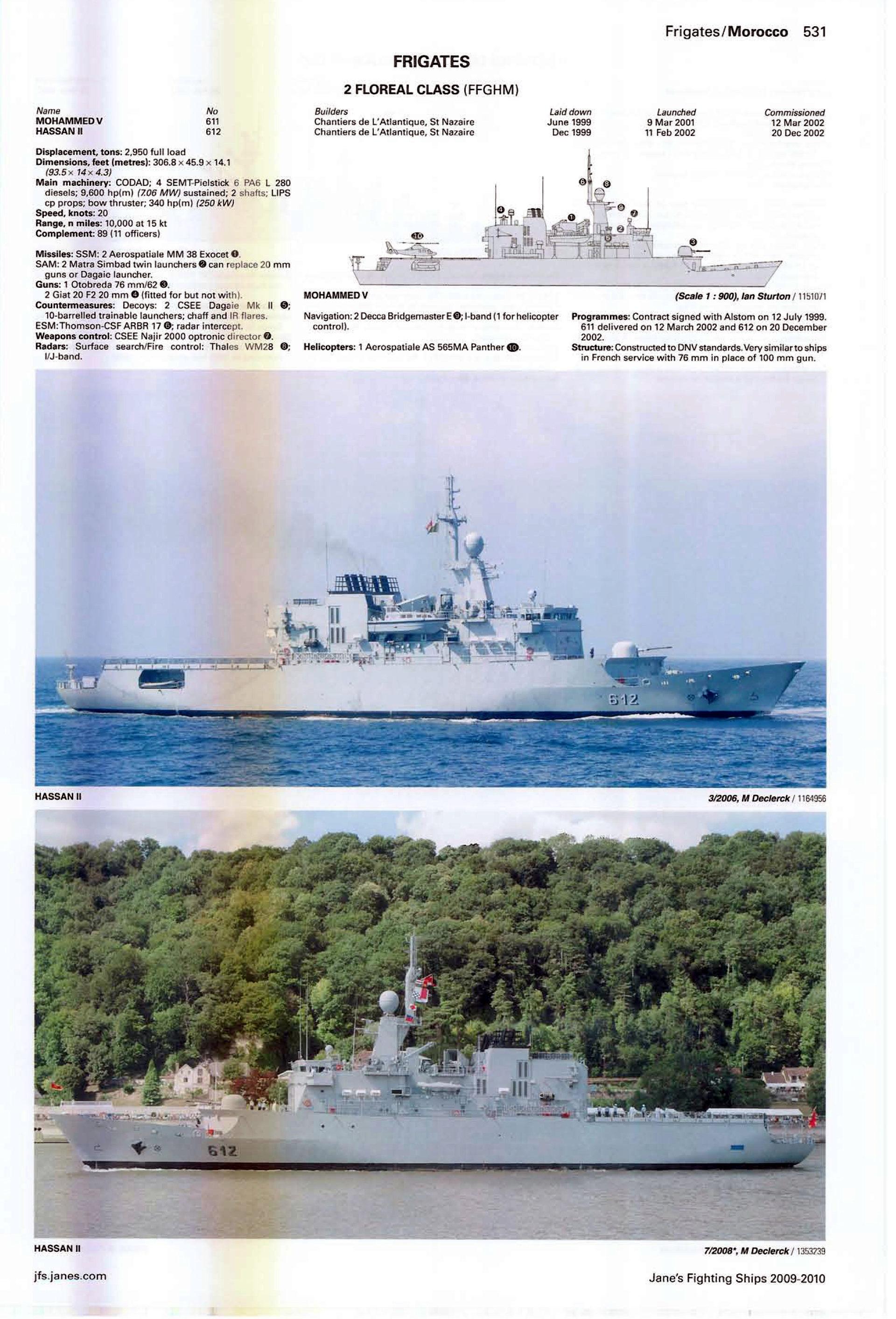 Articles à propos de la Marine Royale Marocaine Jane_s18