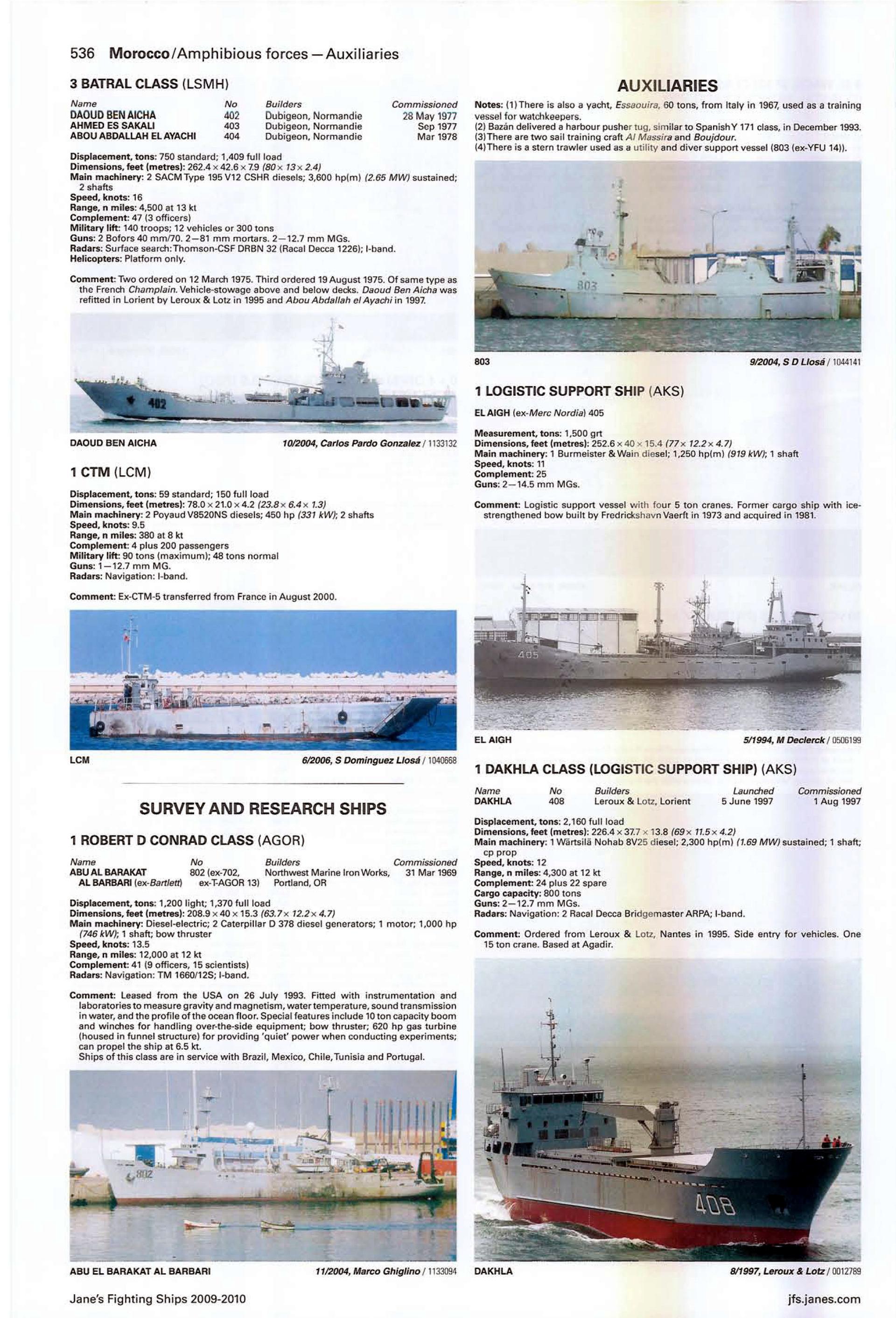 Articles à propos de la Marine Royale Marocaine Jane_s23