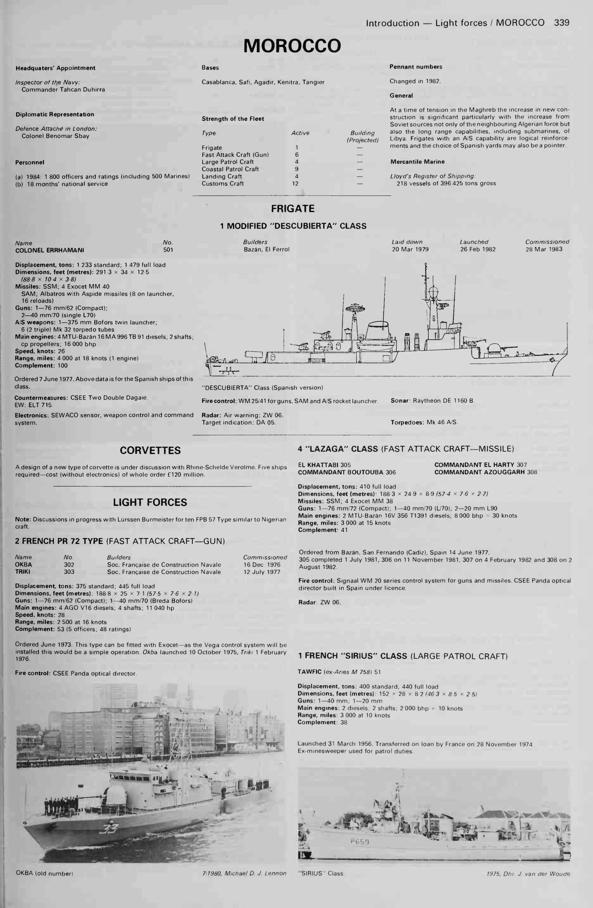 Articles à propos de la Marine Royale Marocaine Janes-10