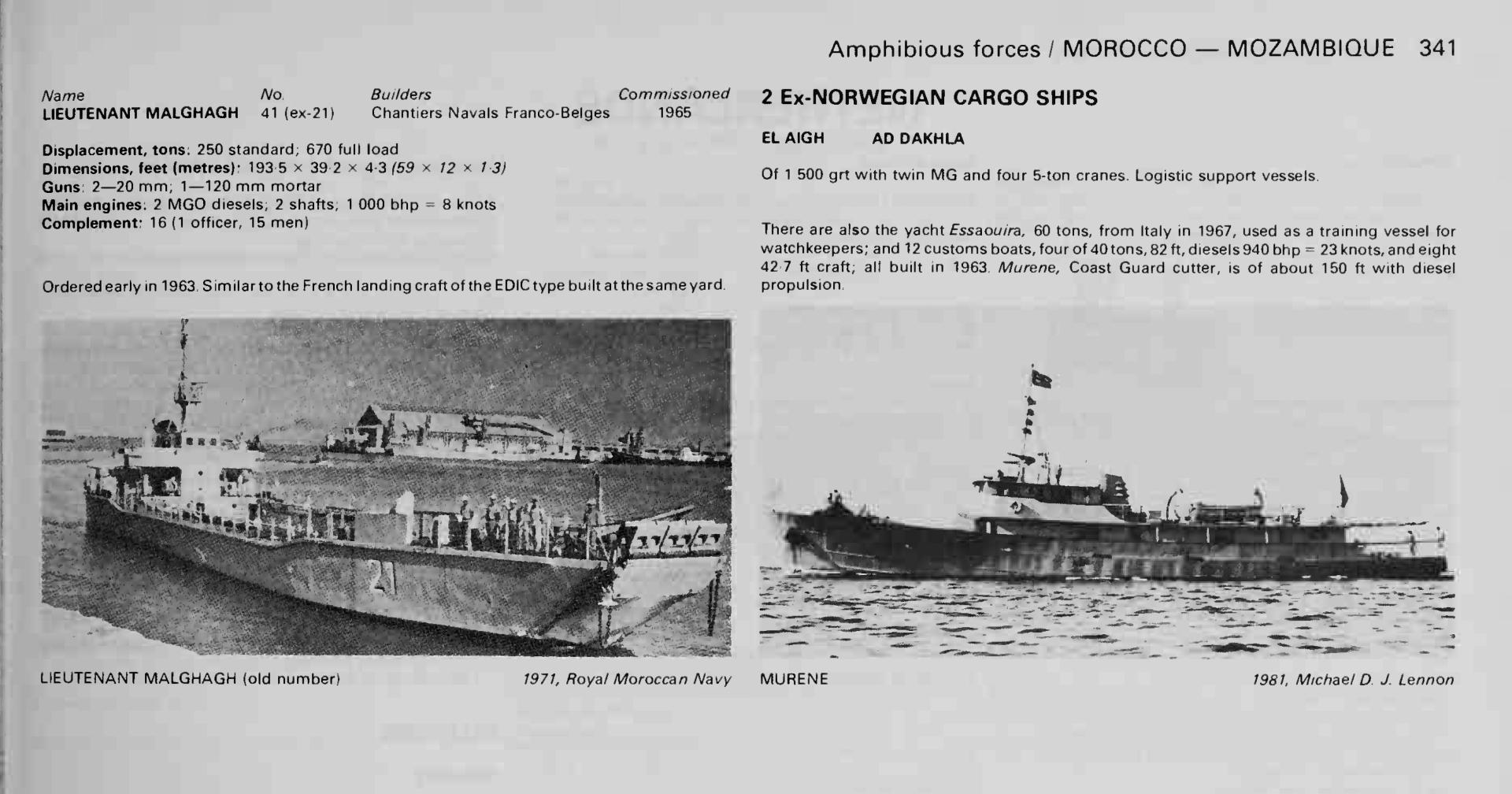 Articles à propos de la Marine Royale Marocaine Janes-12