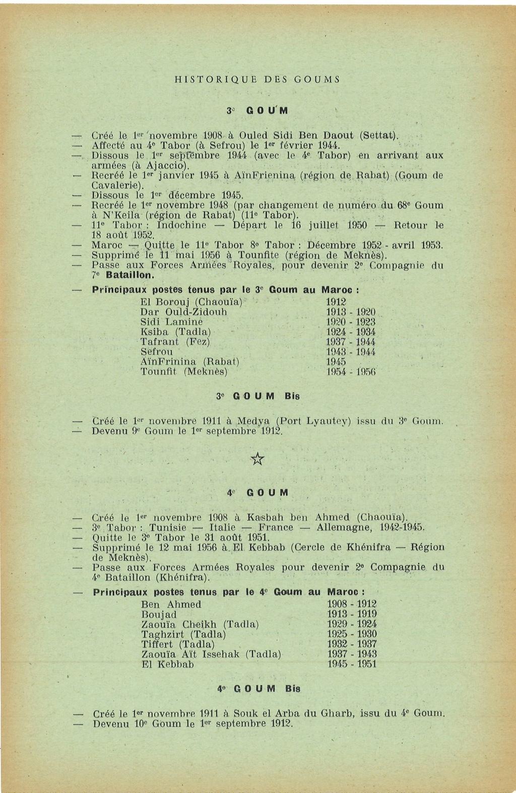 12 mai 1956 - Dissolution des Goumiers & integration aux FAR La_kou12