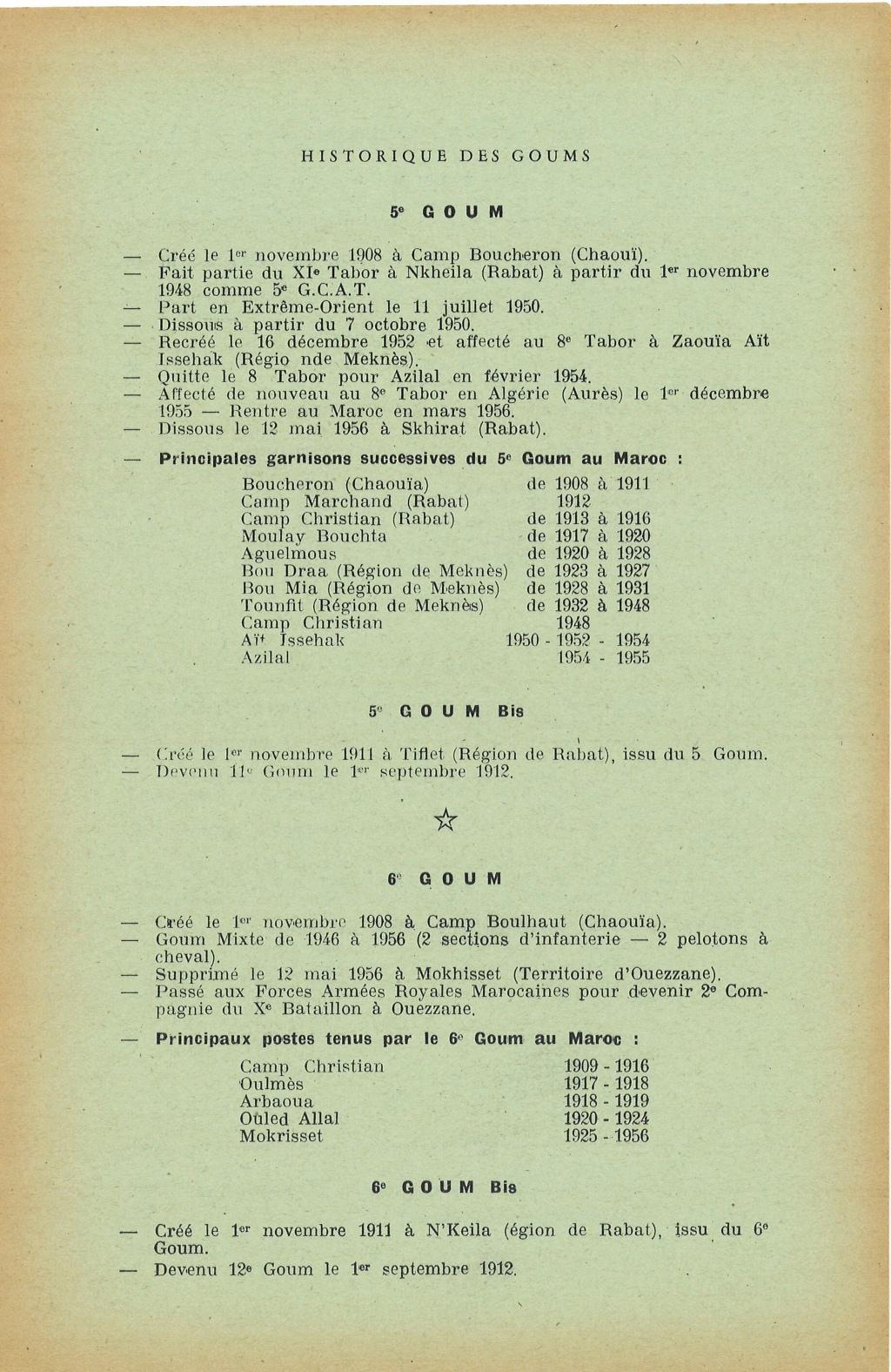 12 mai 1956 - Dissolution des Goumiers & integration aux FAR La_kou13