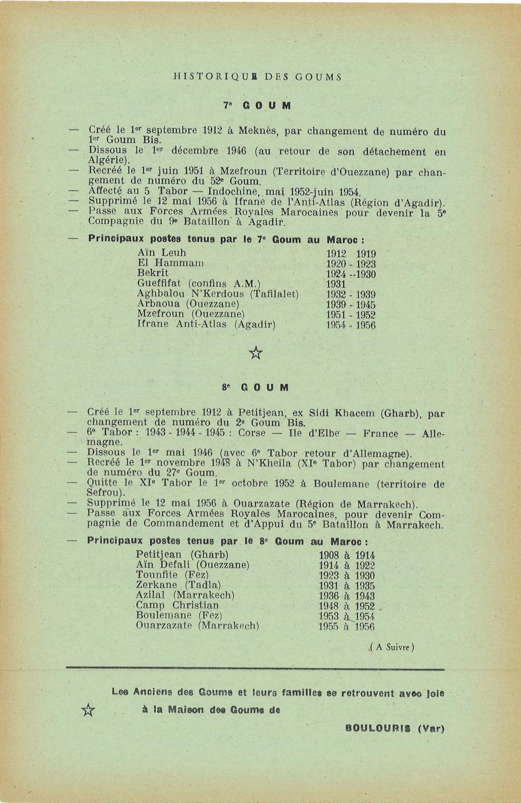 12 mai 1956 - Dissolution des Goumiers & integration aux FAR La_kou14