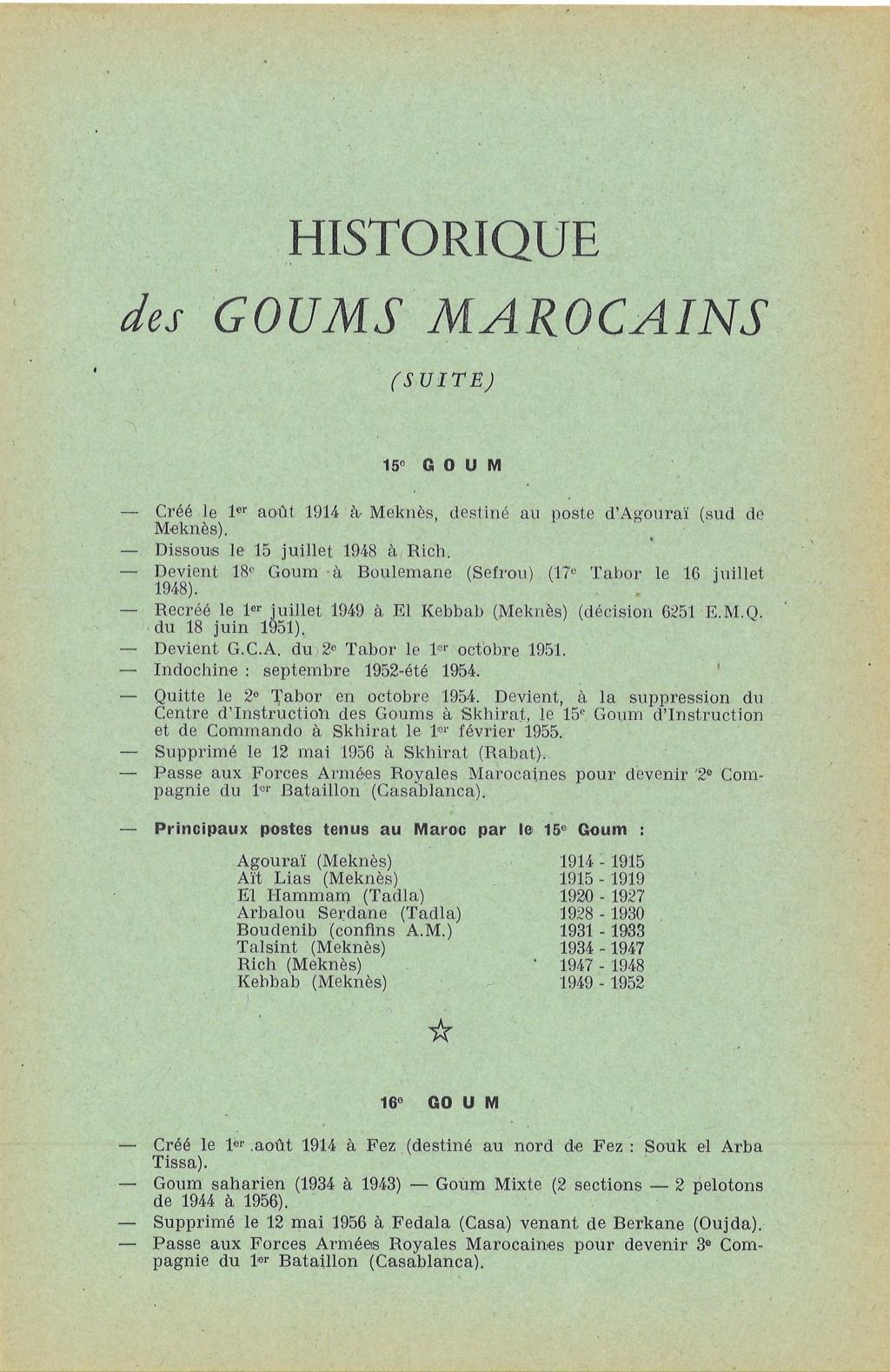 12 mai 1956 - Dissolution des Goumiers & integration aux FAR La_kou15