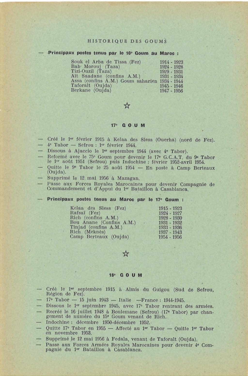 12 mai 1956 - Dissolution des Goumiers & integration aux FAR La_kou16