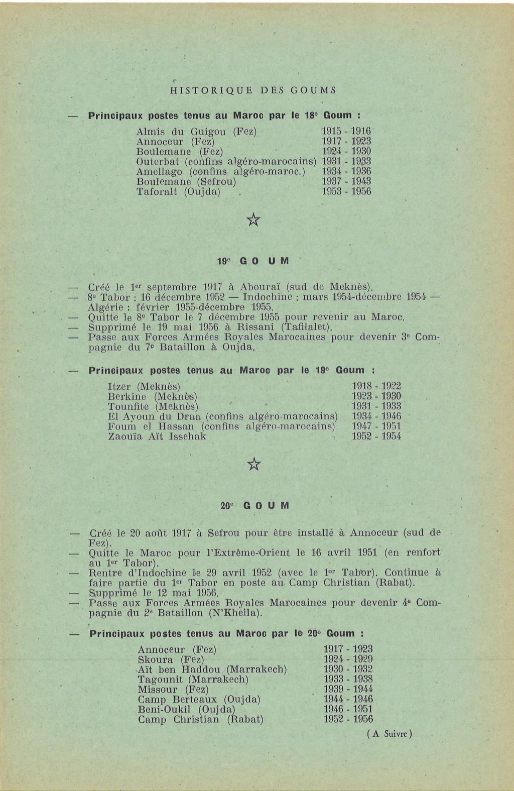 12 mai 1956 - Dissolution des Goumiers & integration aux FAR La_kou17