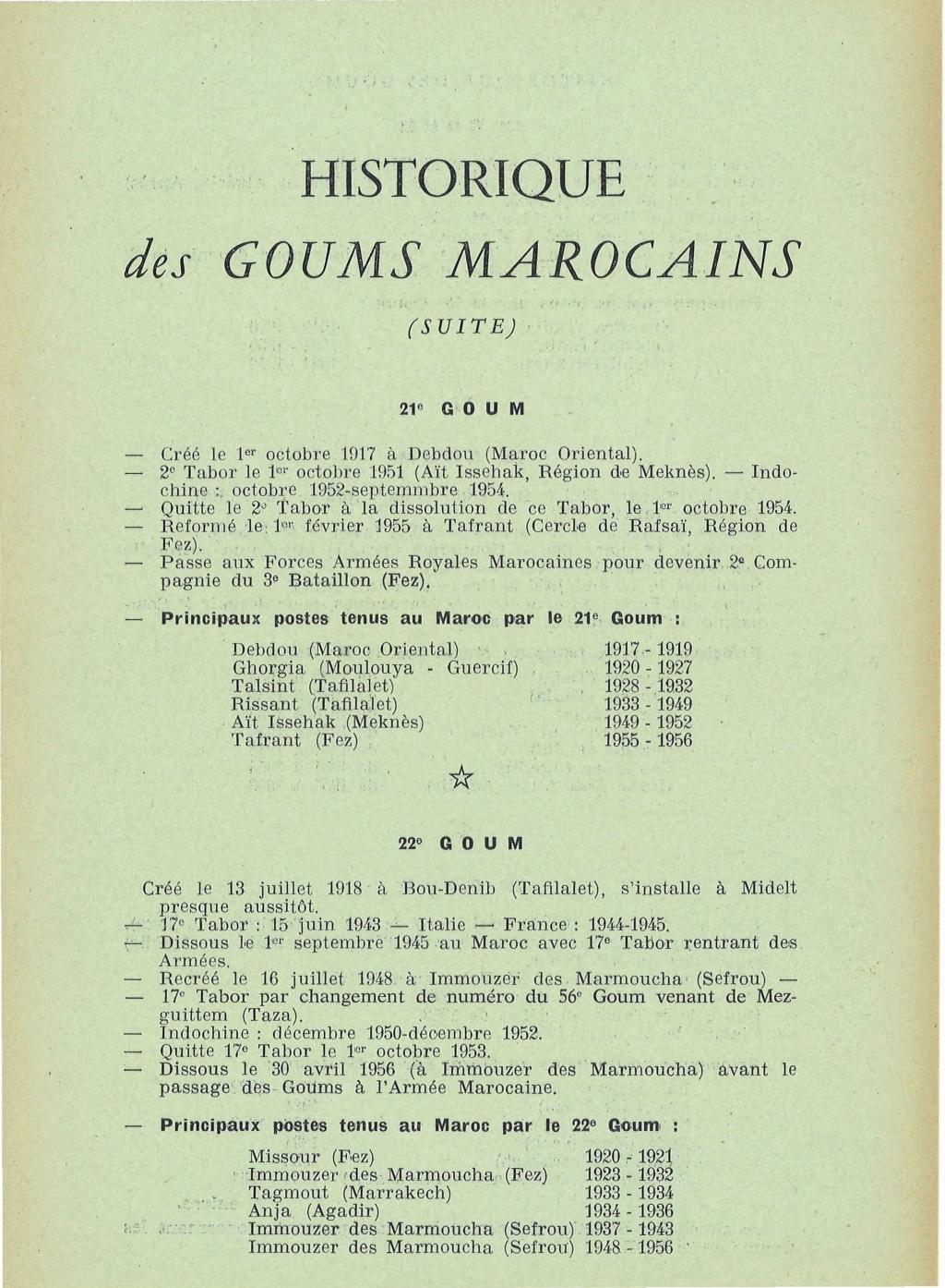 12 mai 1956 - Dissolution des Goumiers & integration aux FAR La_kou18