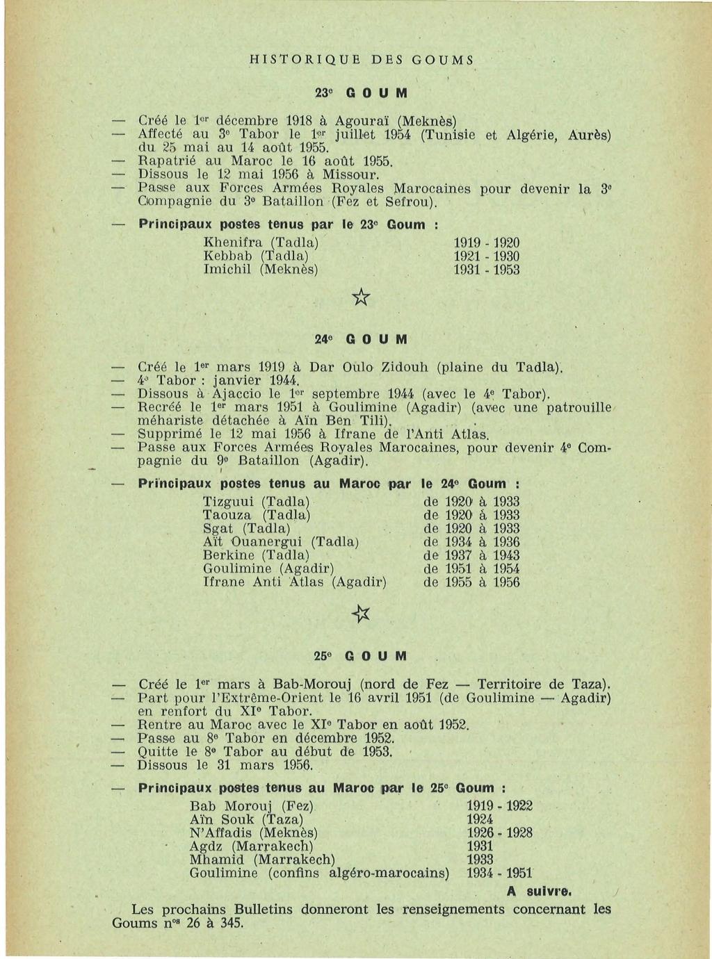 12 mai 1956 - Dissolution des Goumiers & integration aux FAR La_kou19