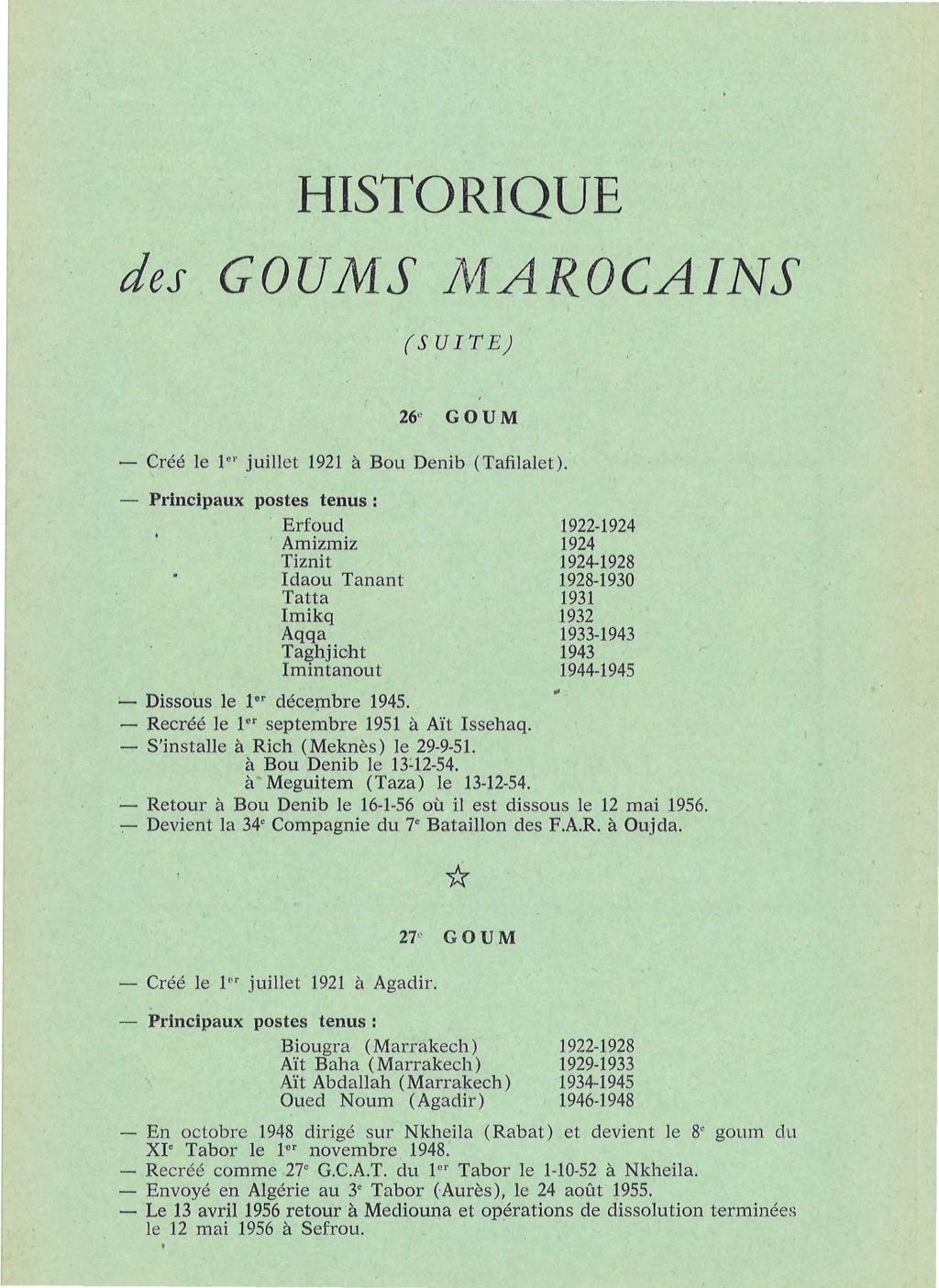 12 mai 1956 - Dissolution des Goumiers & integration aux FAR La_kou20