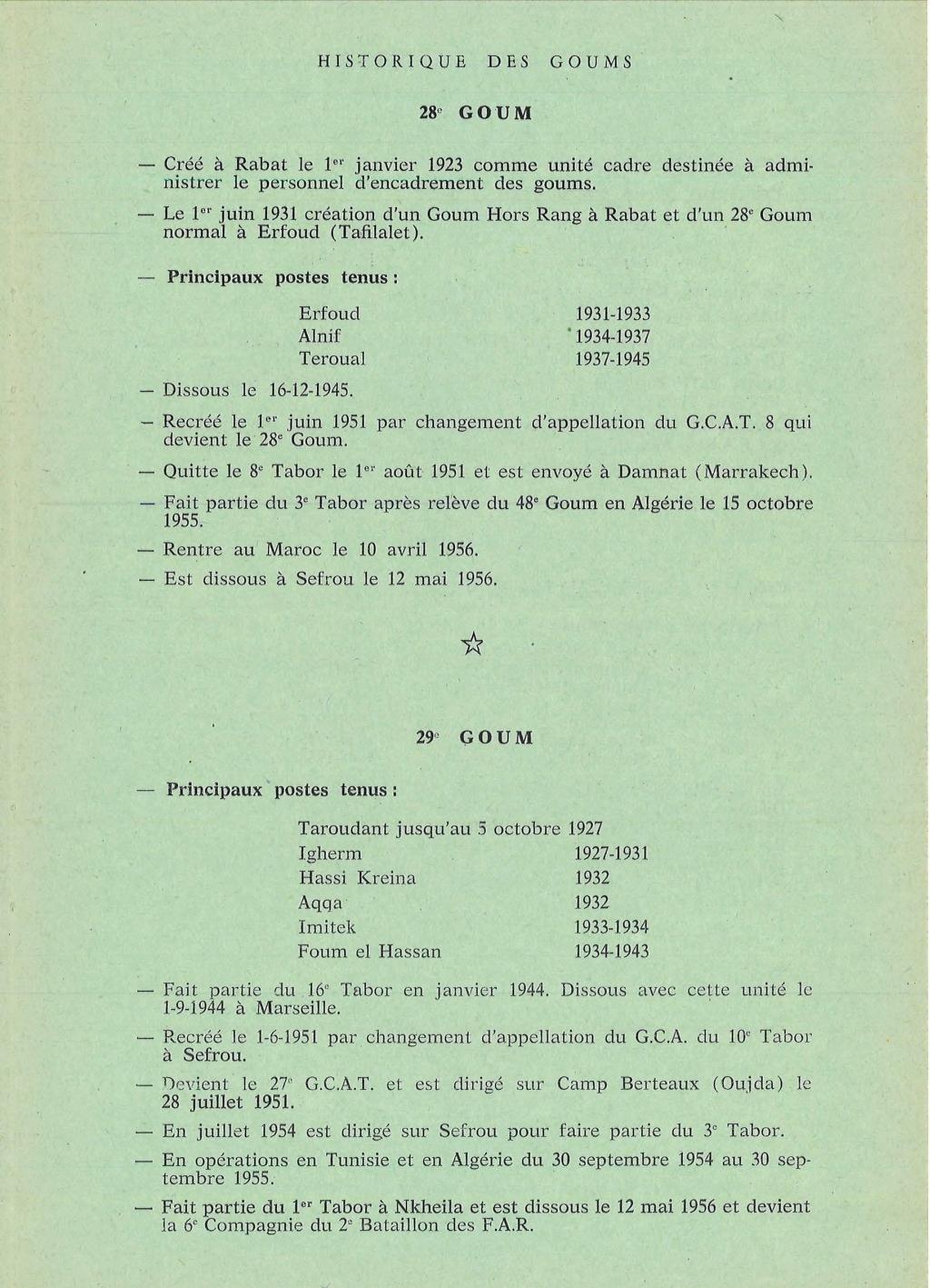 12 mai 1956 - Dissolution des Goumiers & integration aux FAR La_kou21