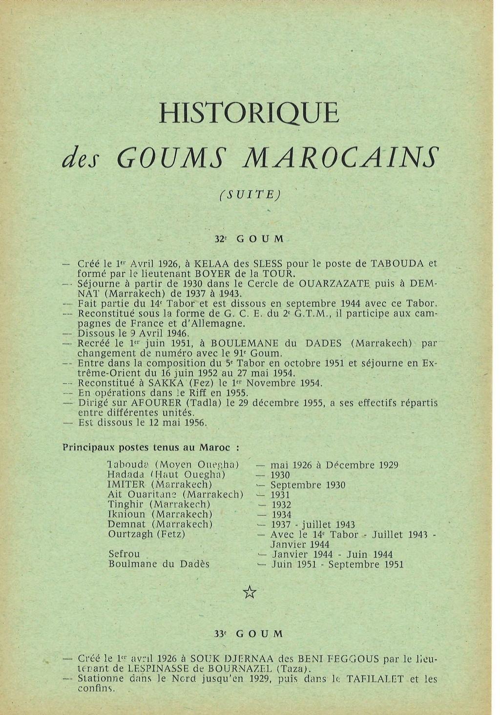 12 mai 1956 - Dissolution des Goumiers & integration aux FAR La_kou23