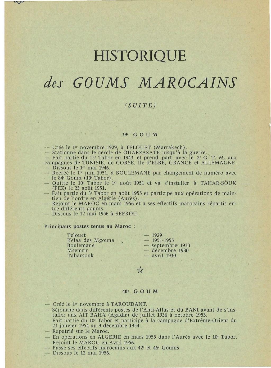 12 mai 1956 - Dissolution des Goumiers & integration aux FAR La_kou27