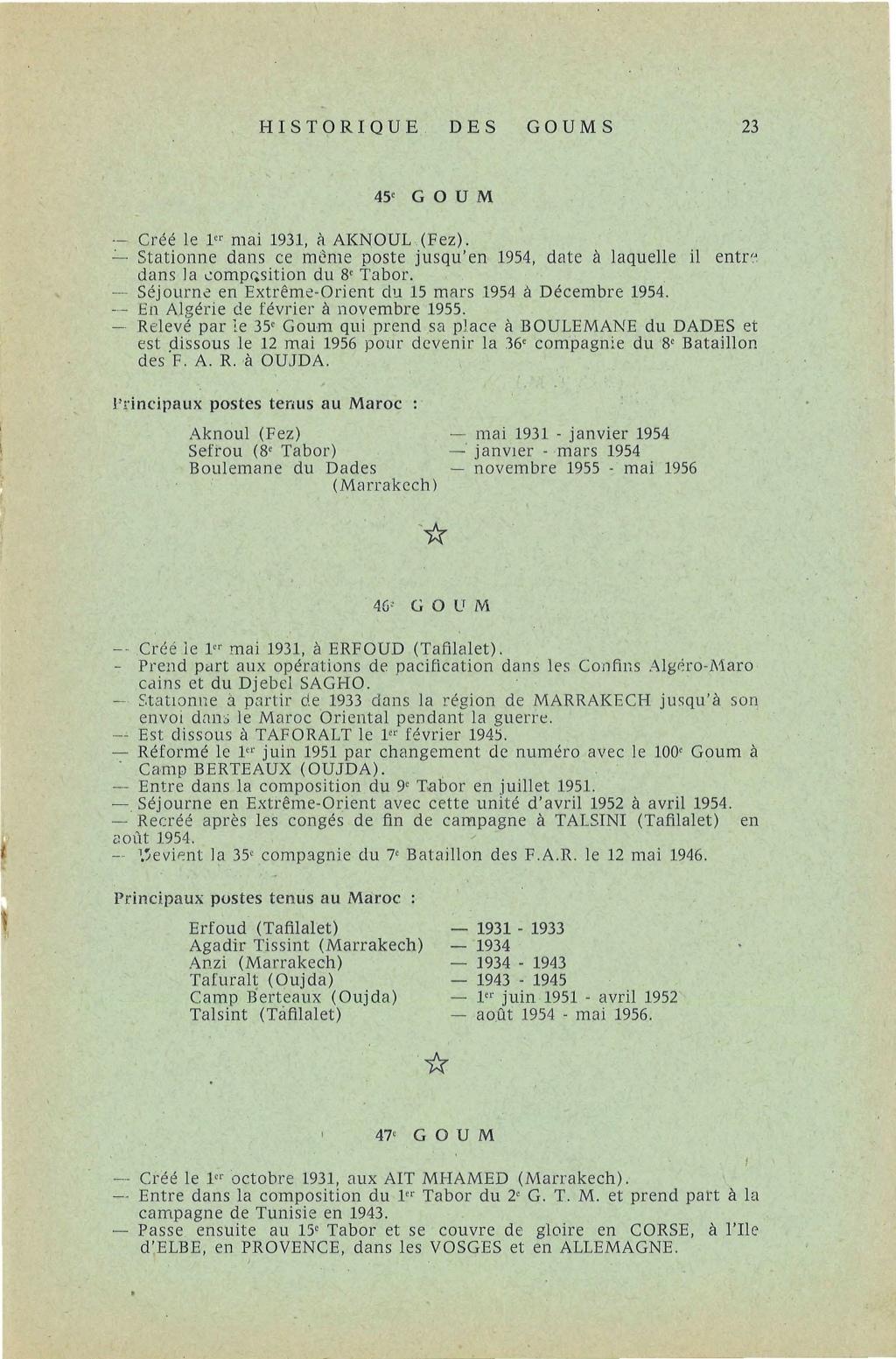 12 mai 1956 - Dissolution des Goumiers & integration aux FAR La_kou30