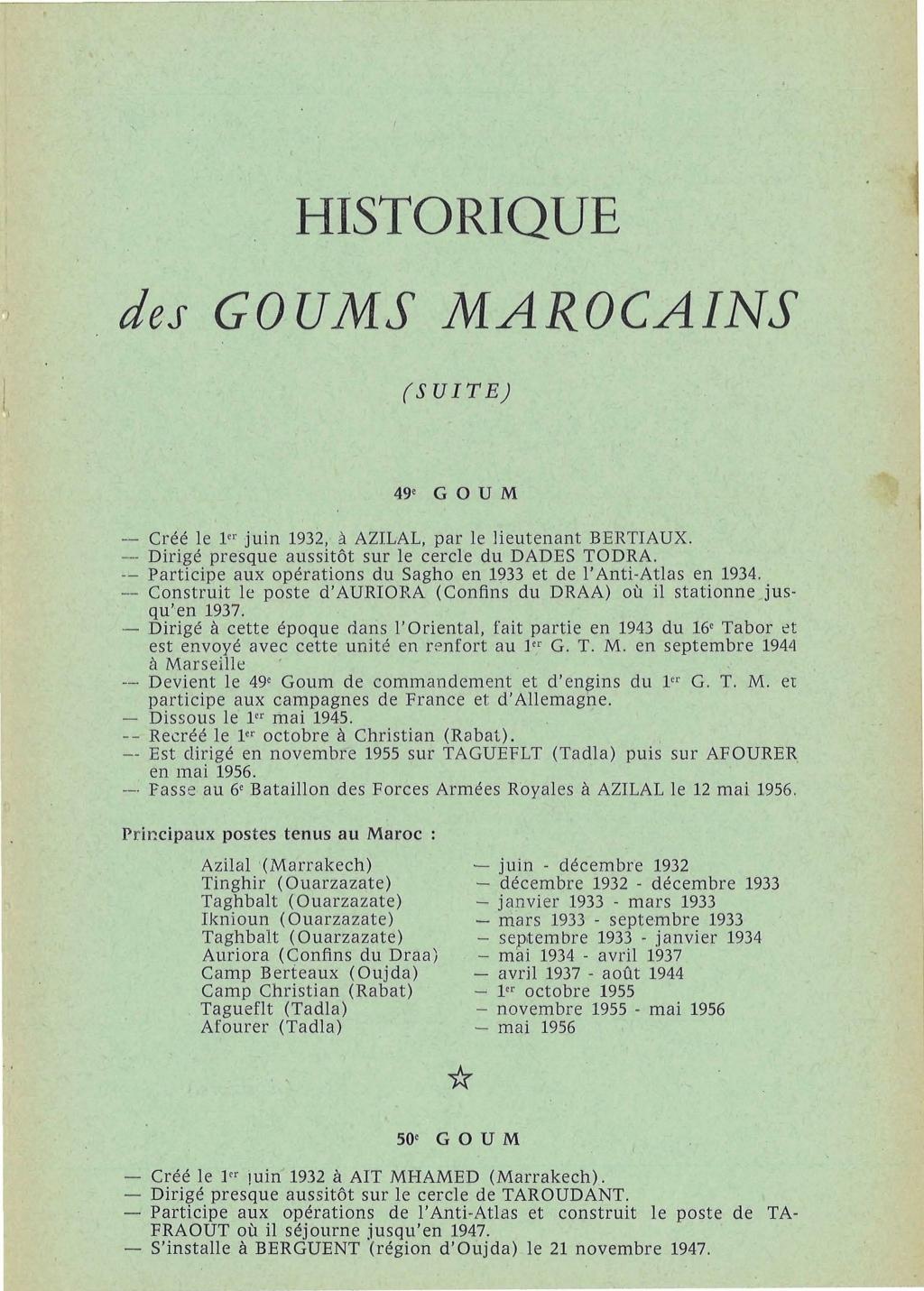 12 mai 1956 - Dissolution des Goumiers & integration aux FAR La_kou32
