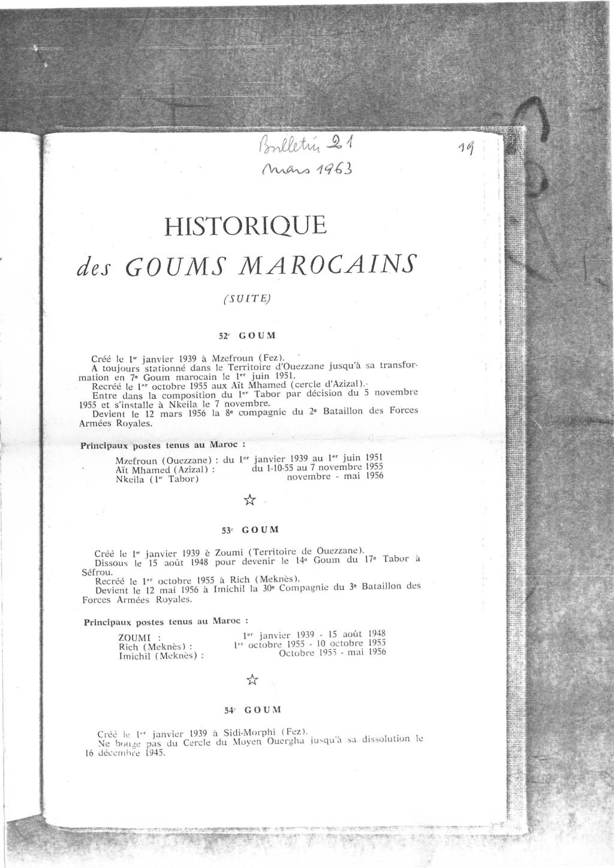 12 mai 1956 - Dissolution des Goumiers & integration aux FAR La_kou34
