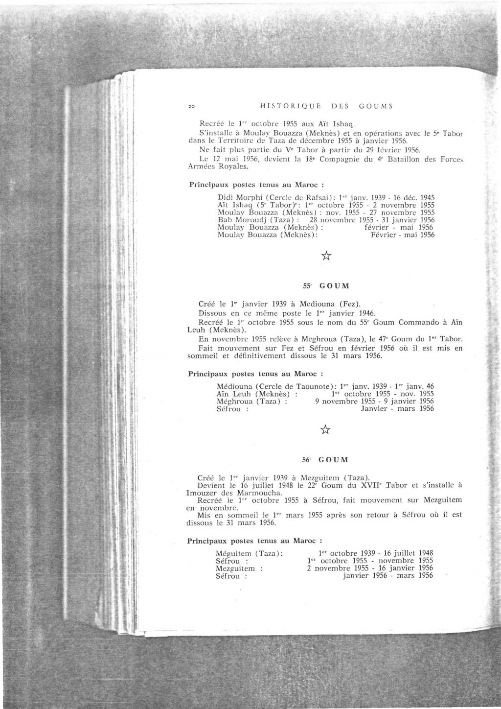 12 mai 1956 - Dissolution des Goumiers & integration aux FAR La_kou35