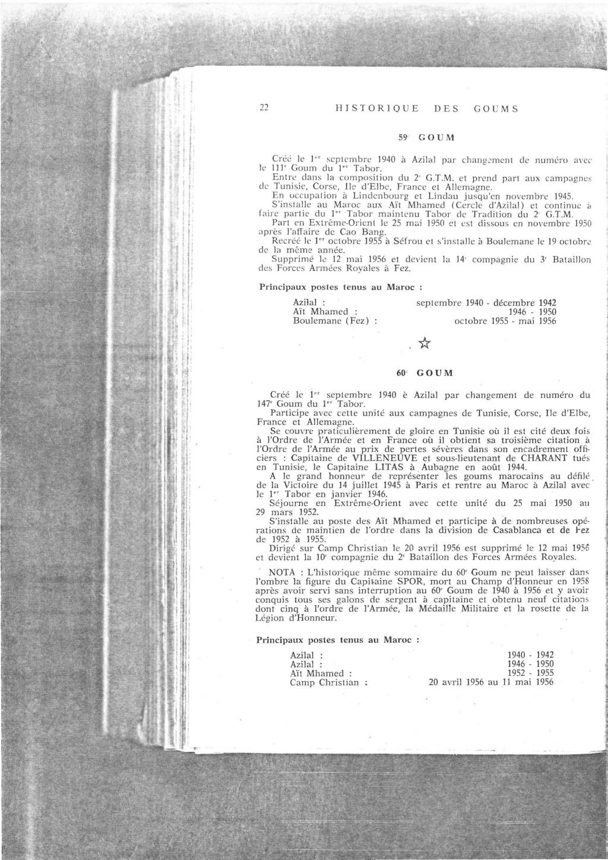 12 mai 1956 - Dissolution des Goumiers & integration aux FAR La_kou37