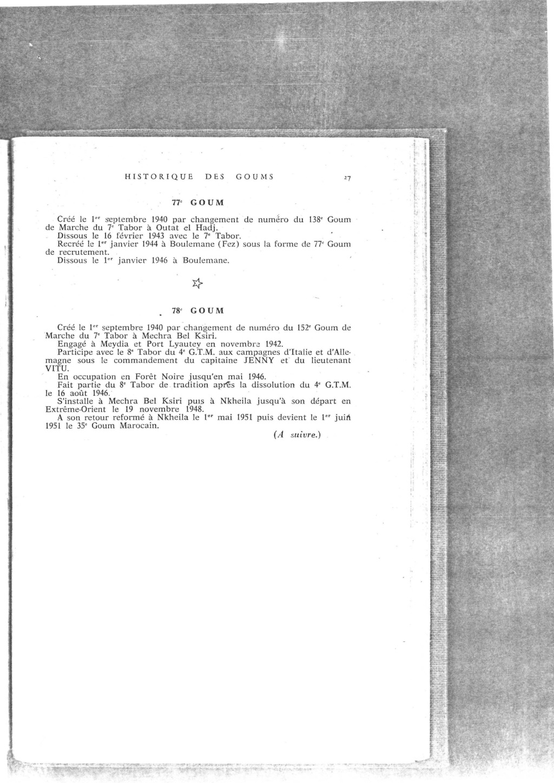 12 mai 1956 - Dissolution des Goumiers & integration aux FAR La_kou43