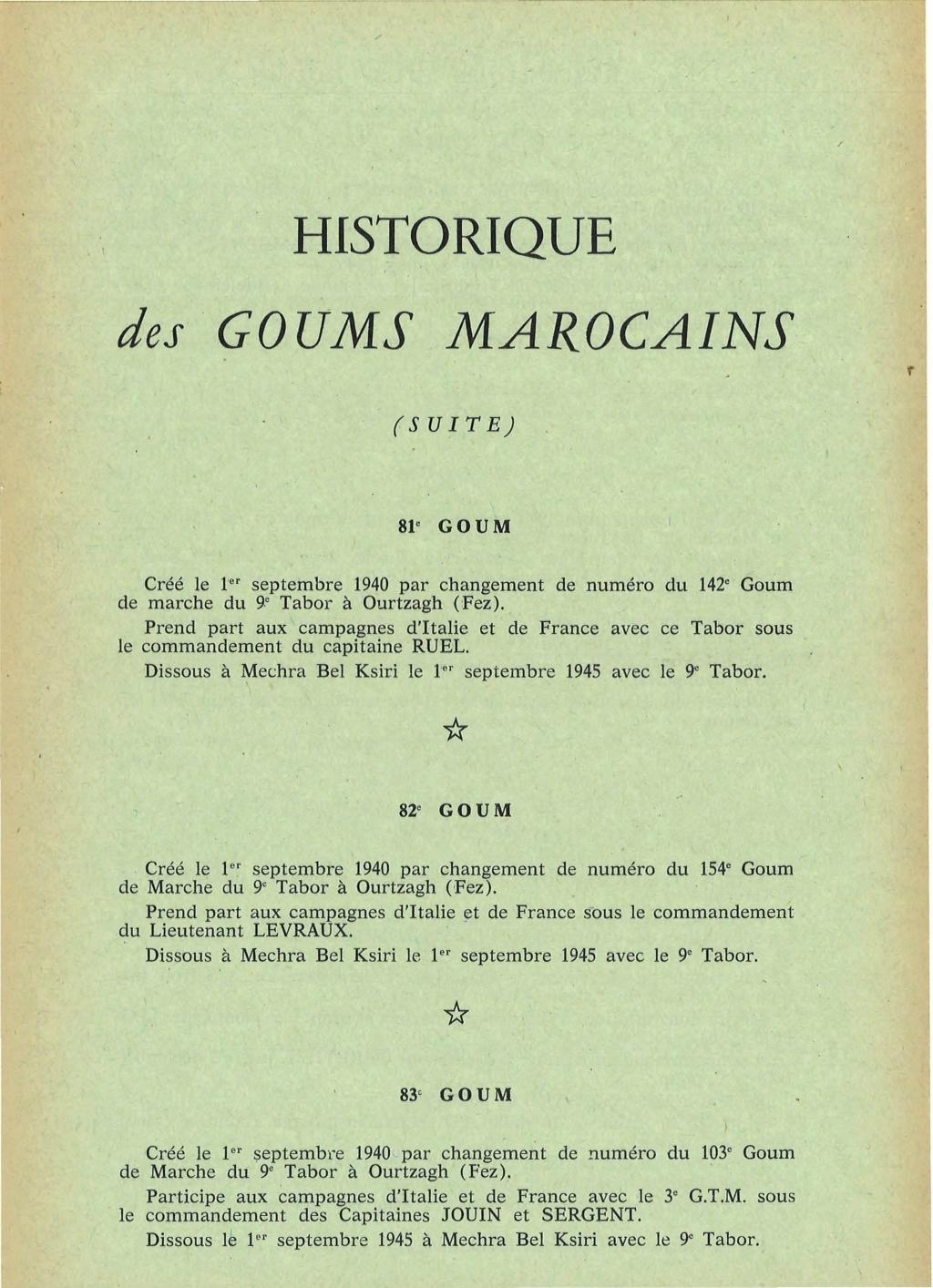 12 mai 1956 - Dissolution des Goumiers & integration aux FAR La_kou45