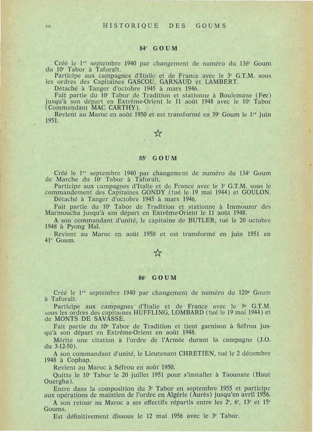 12 mai 1956 - Dissolution des Goumiers & integration aux FAR La_kou46