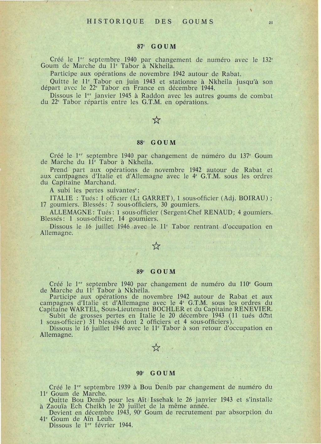 12 mai 1956 - Dissolution des Goumiers & integration aux FAR La_kou47