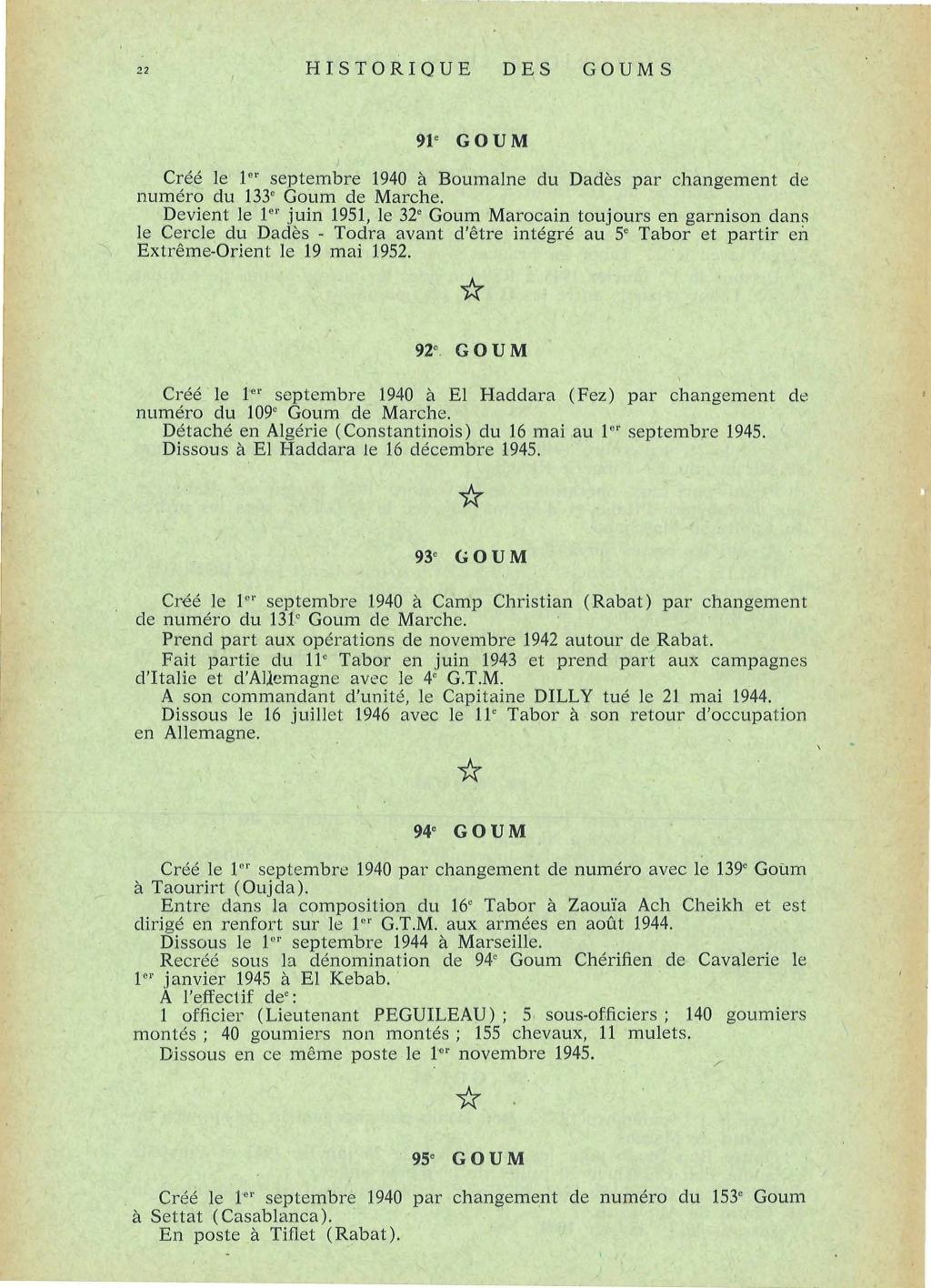 12 mai 1956 - Dissolution des Goumiers & integration aux FAR La_kou48