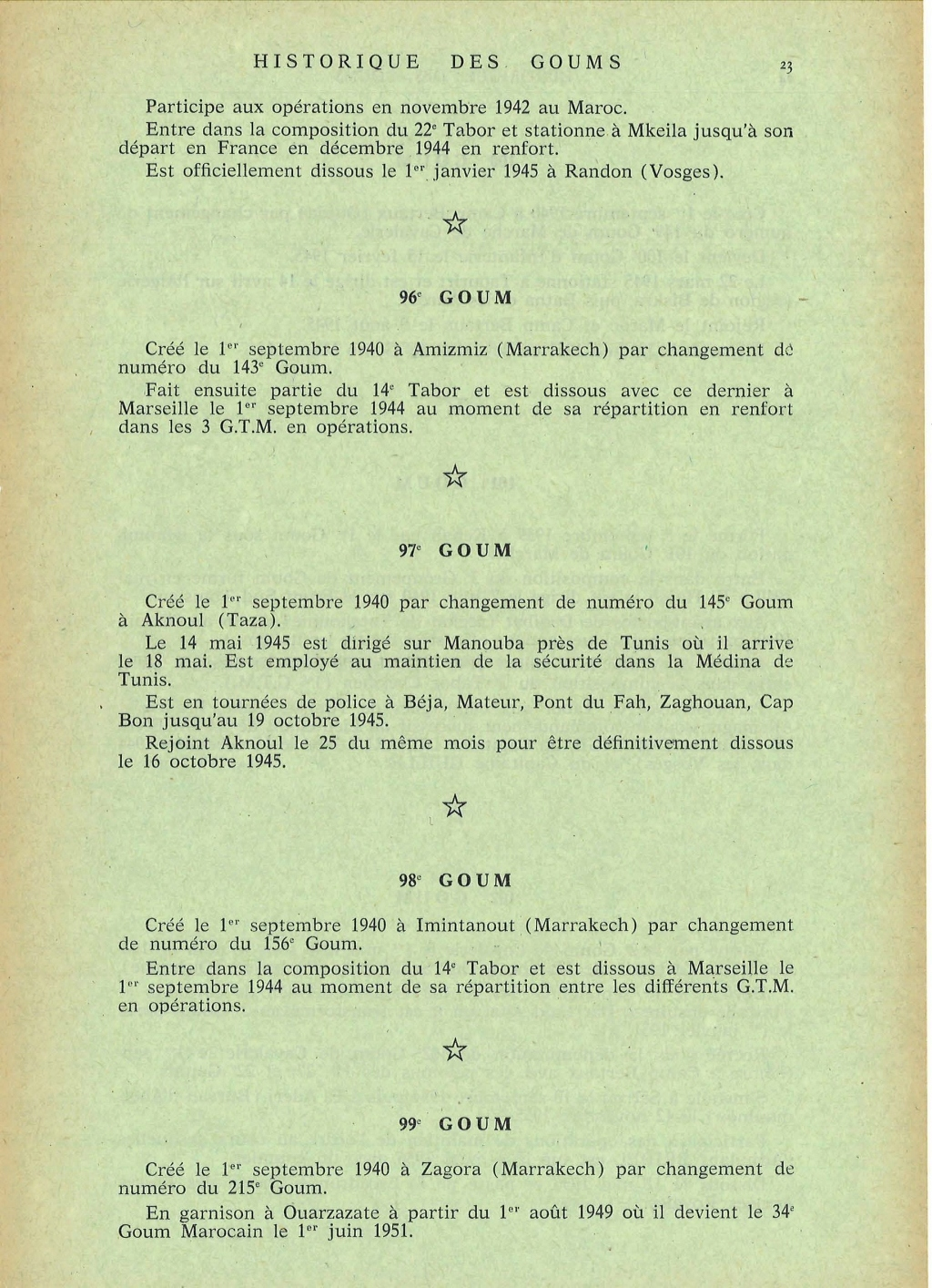 12 mai 1956 - Dissolution des Goumiers & integration aux FAR La_kou49