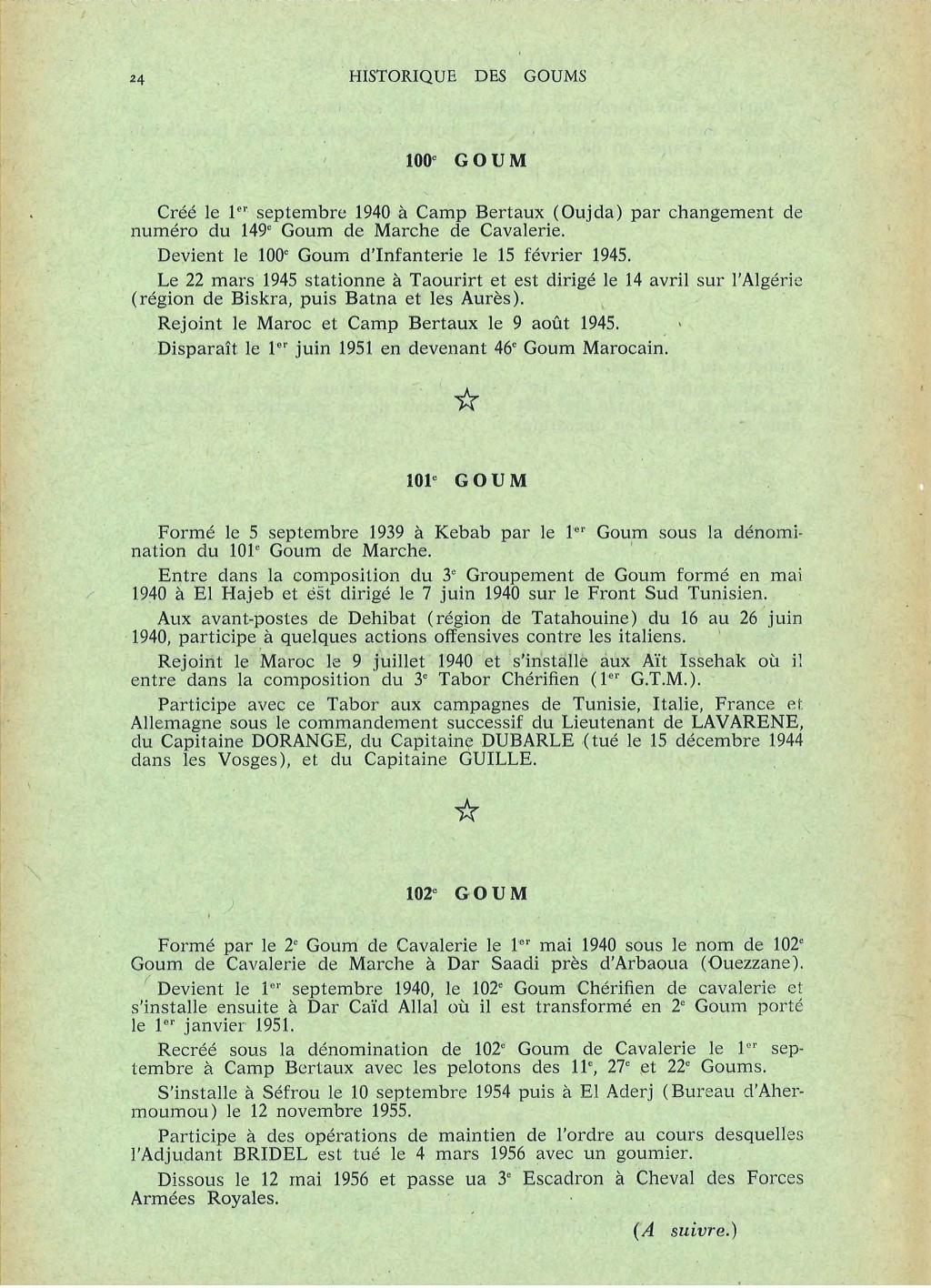 12 mai 1956 - Dissolution des Goumiers & integration aux FAR La_kou50